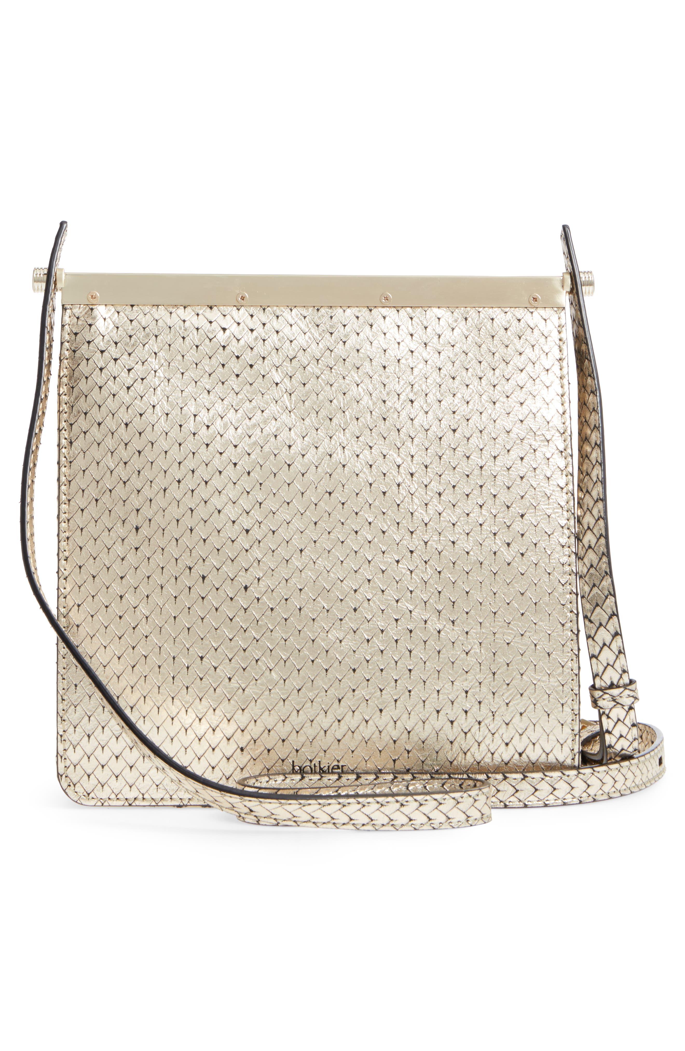 Crawford Calfskin Leather Crossbody Bag,                             Alternate thumbnail 9, color,