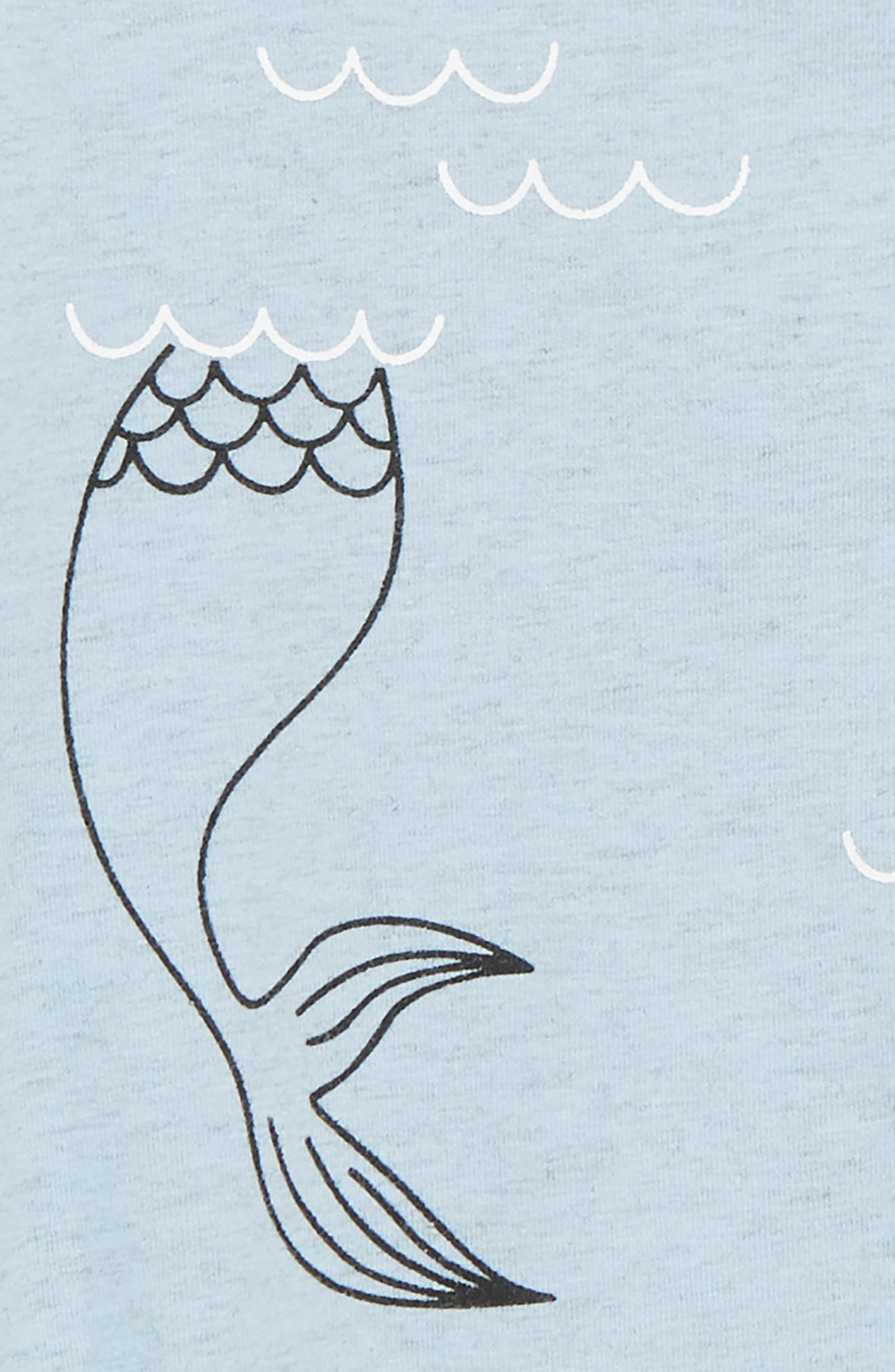 Mermaid Romper,                             Alternate thumbnail 2, color,                             400