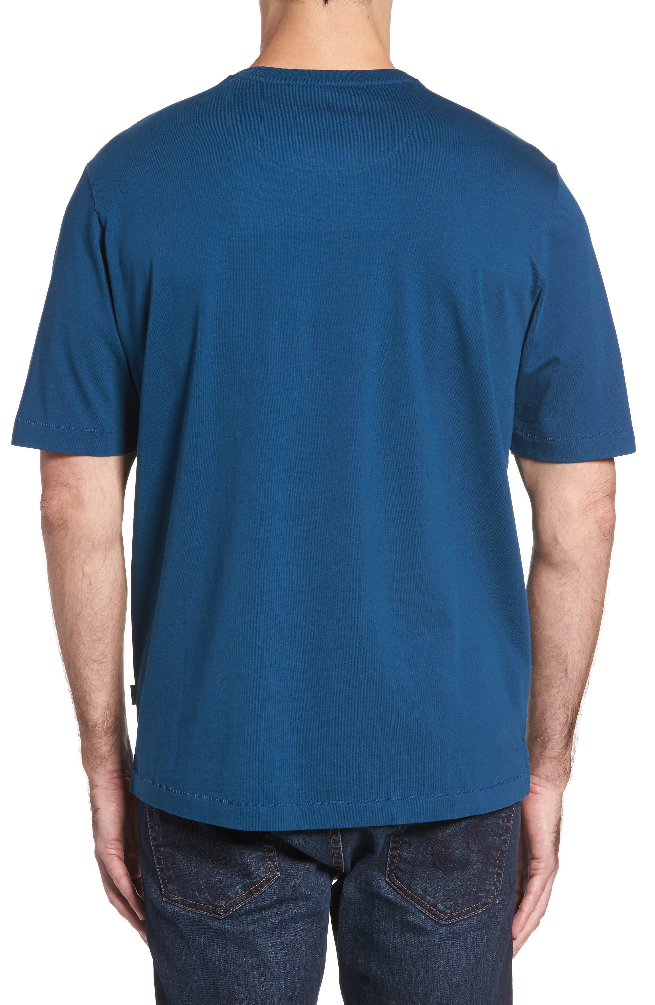 New Bali Sky Pima Cotton Pocket T-Shirt,                             Alternate thumbnail 61, color,