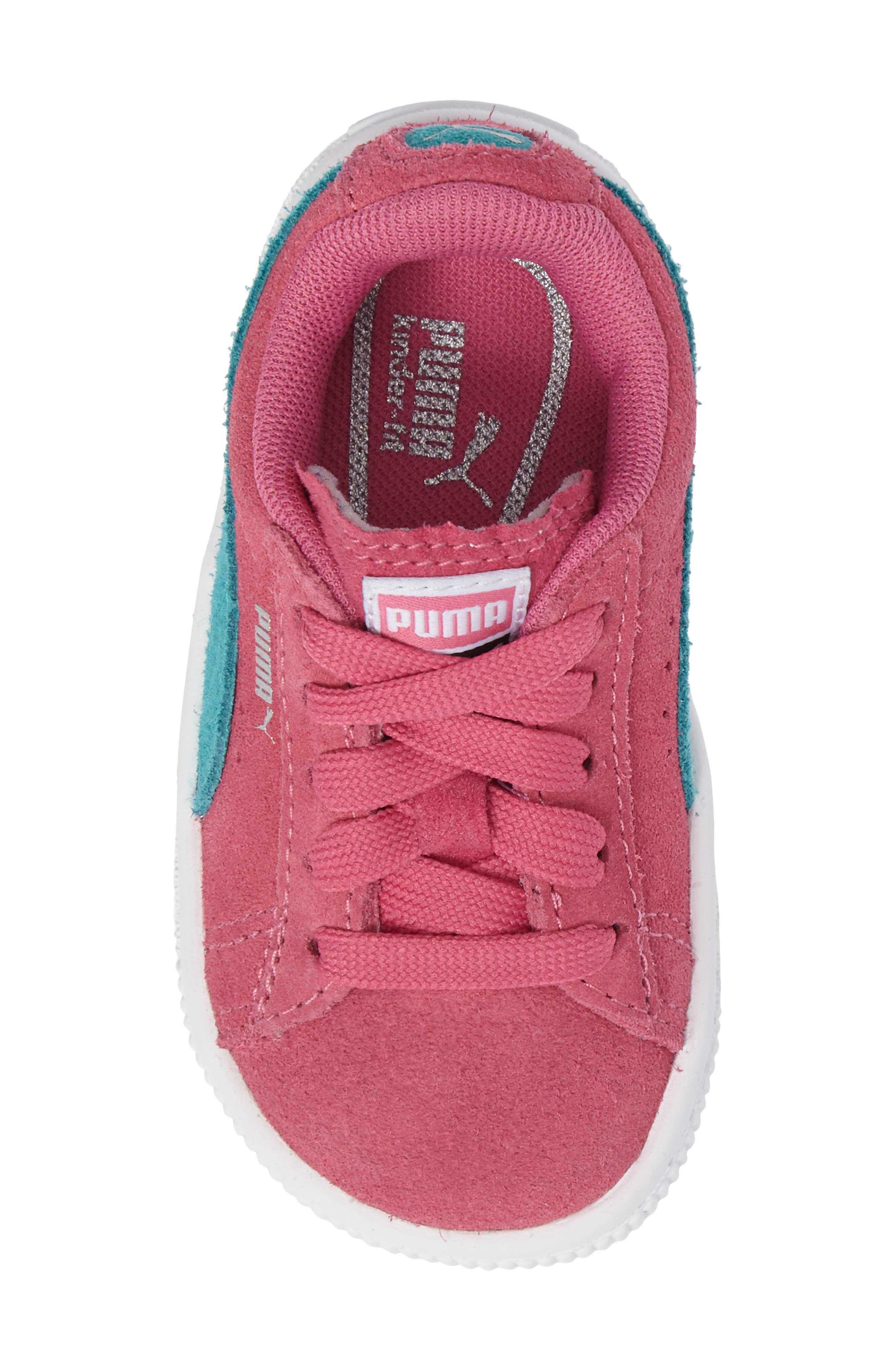 Suede Sneaker,                             Alternate thumbnail 5, color,                             690