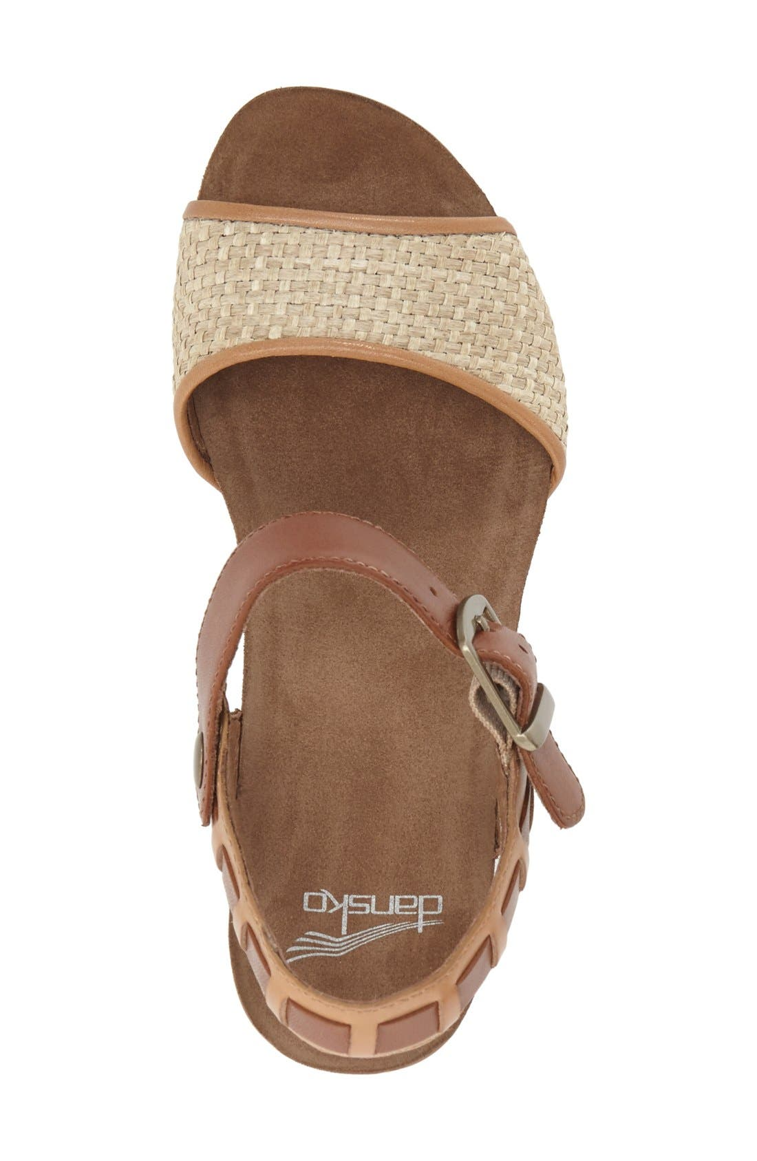 'Debby' Platform Sandal,                             Alternate thumbnail 7, color,