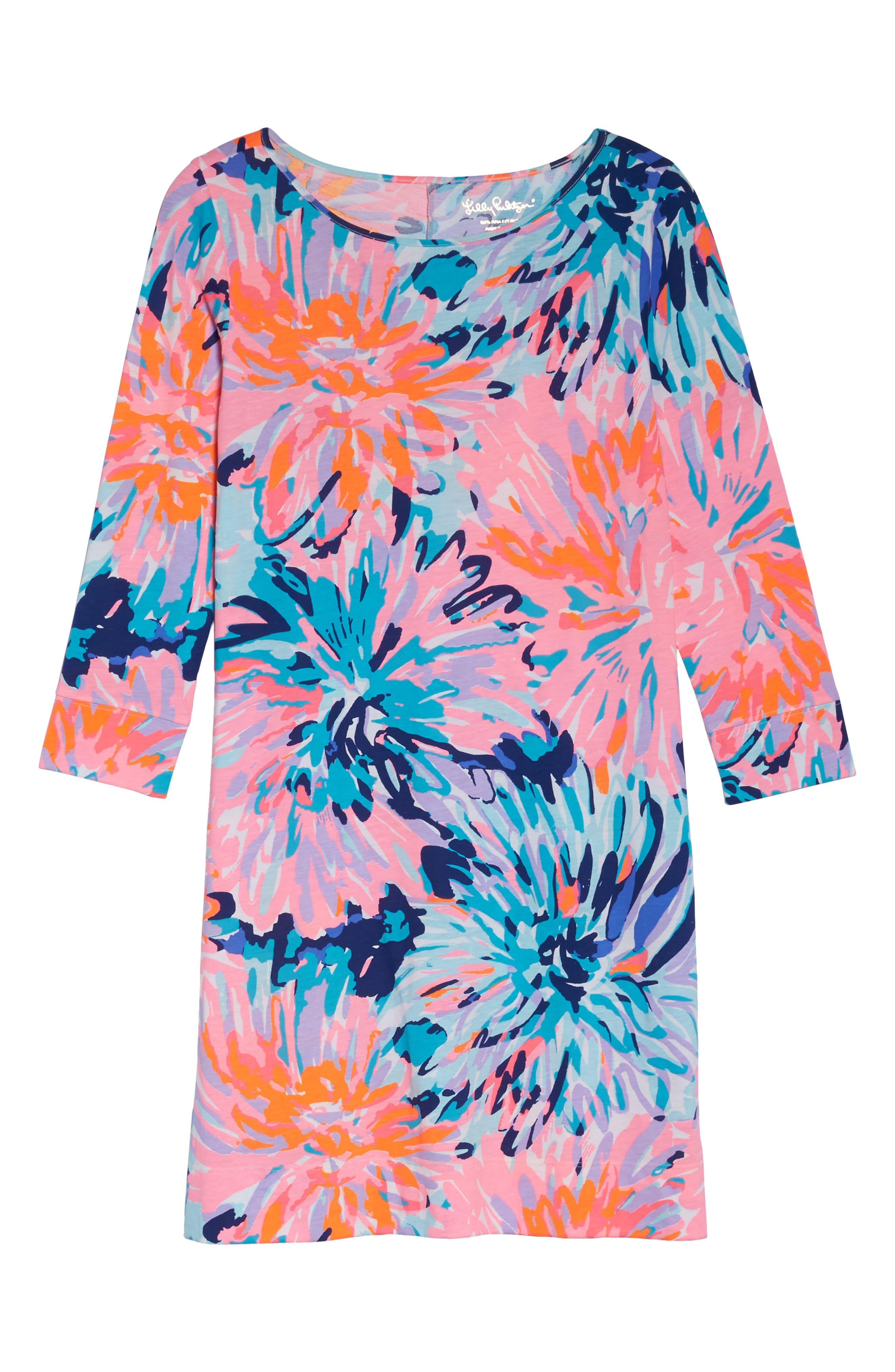 Marlowe T-Shirt Dress,                             Alternate thumbnail 6, color,                             651