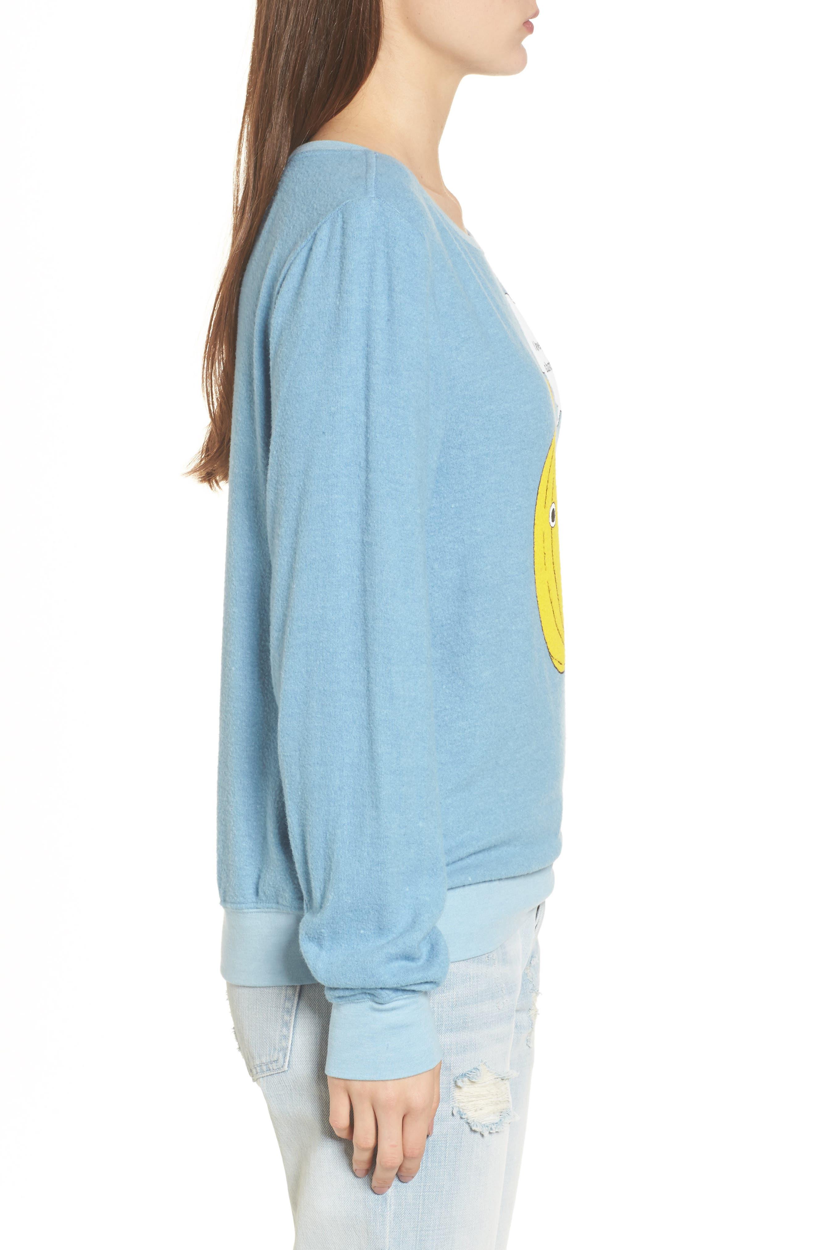 I Love You A Bunch Sweatshirt,                             Alternate thumbnail 3, color,                             420