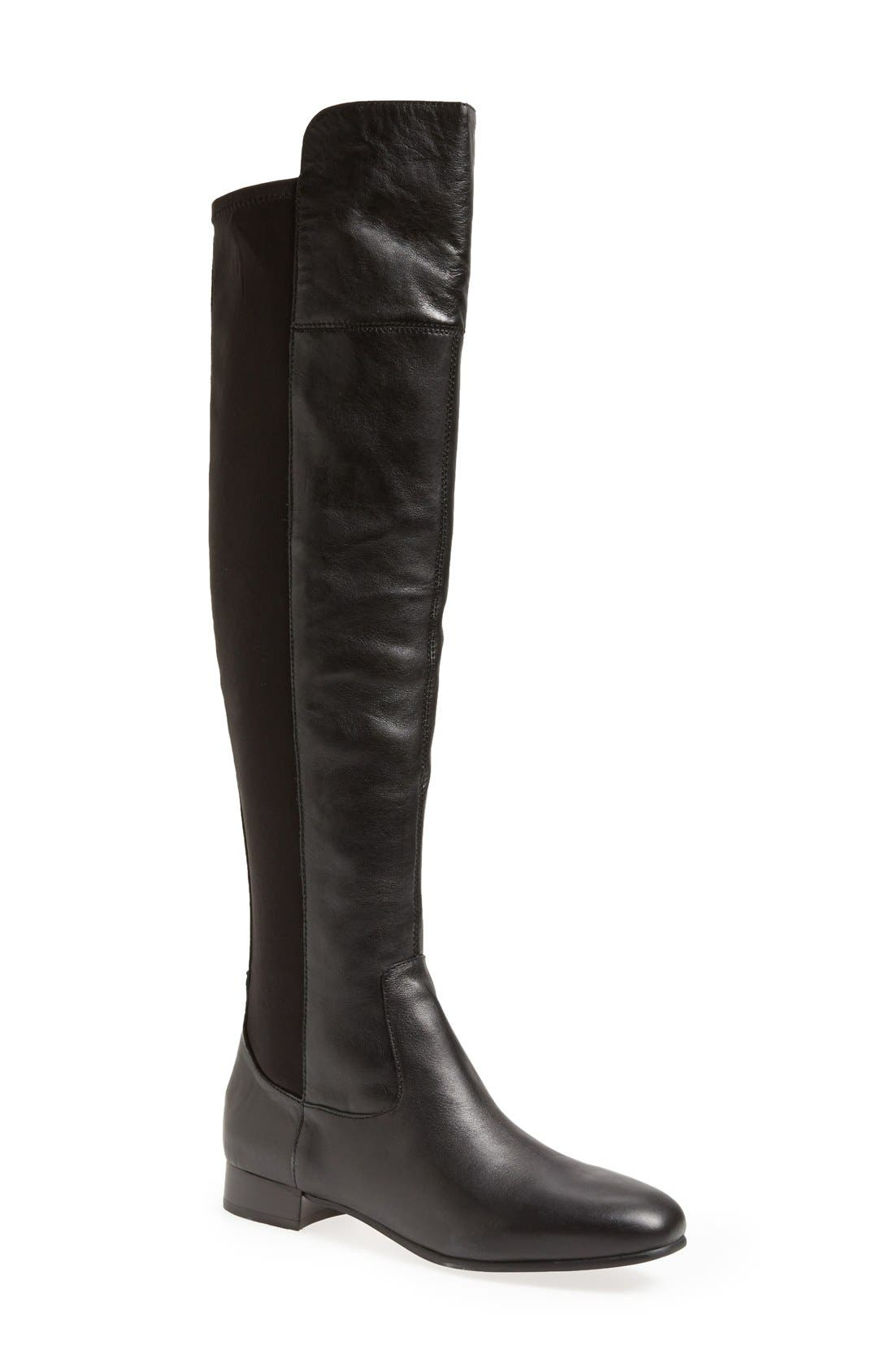 LOUISE ET CIE,                             'Andora' Over the Knee Boot,                             Main thumbnail 1, color,                             002