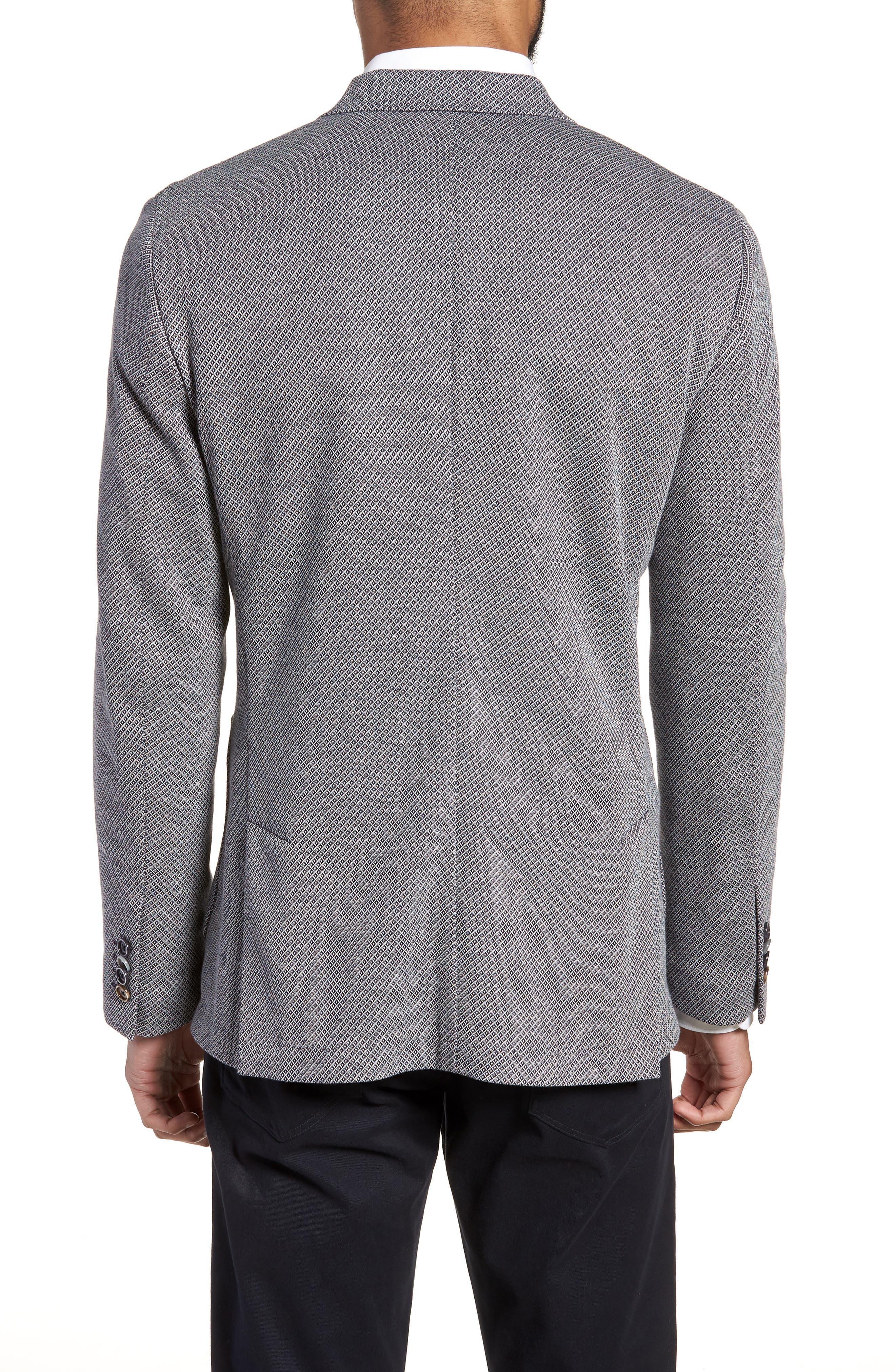 Trim Fit Cotton Blend Blazer,                             Alternate thumbnail 2, color,                             410