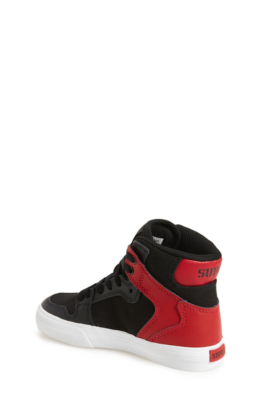 'Vaider' High Top Sneaker,                             Alternate thumbnail 2, color,                             001