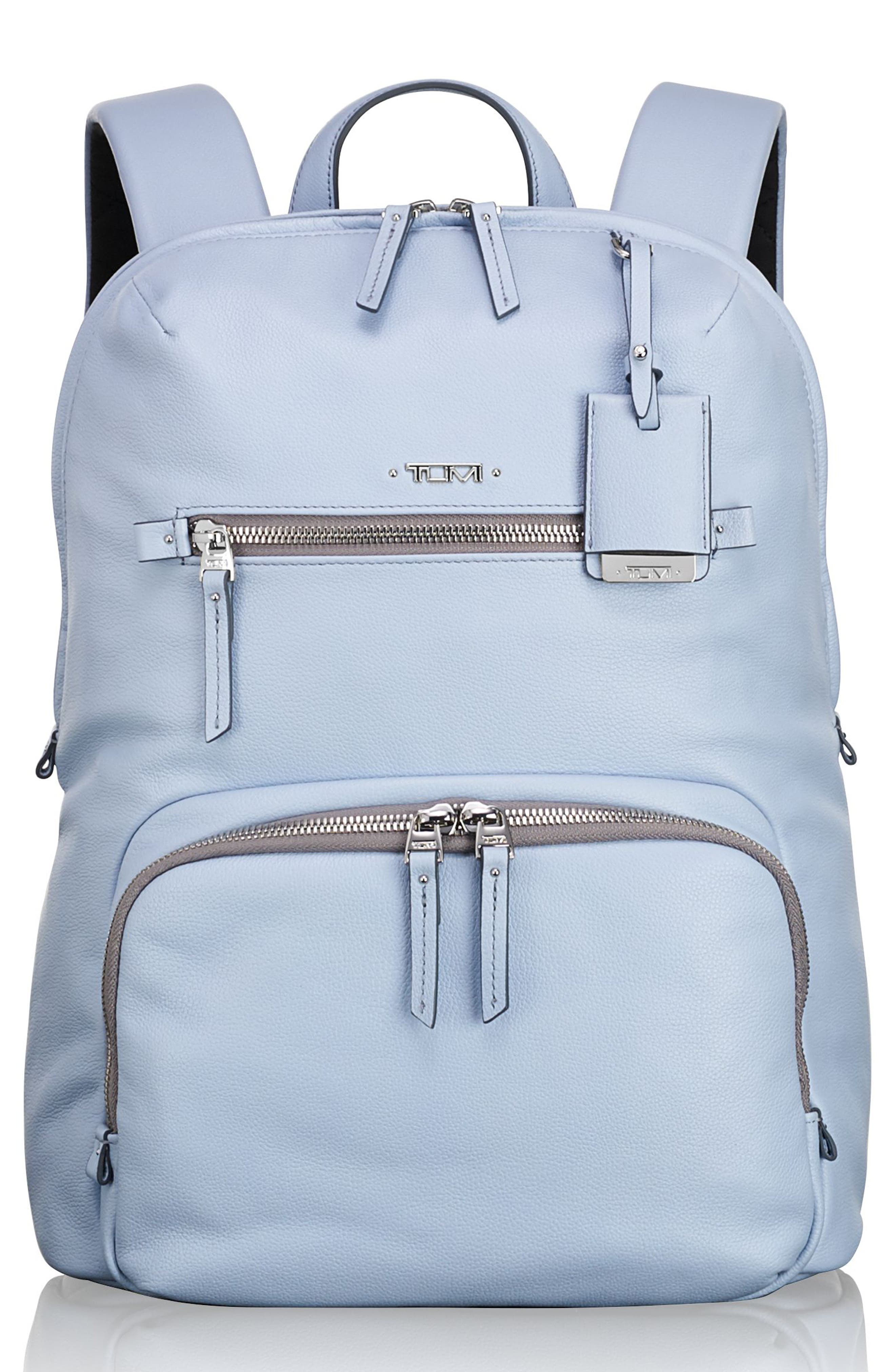 Voyageur Halle Leather Backpack,                         Main,                         color,