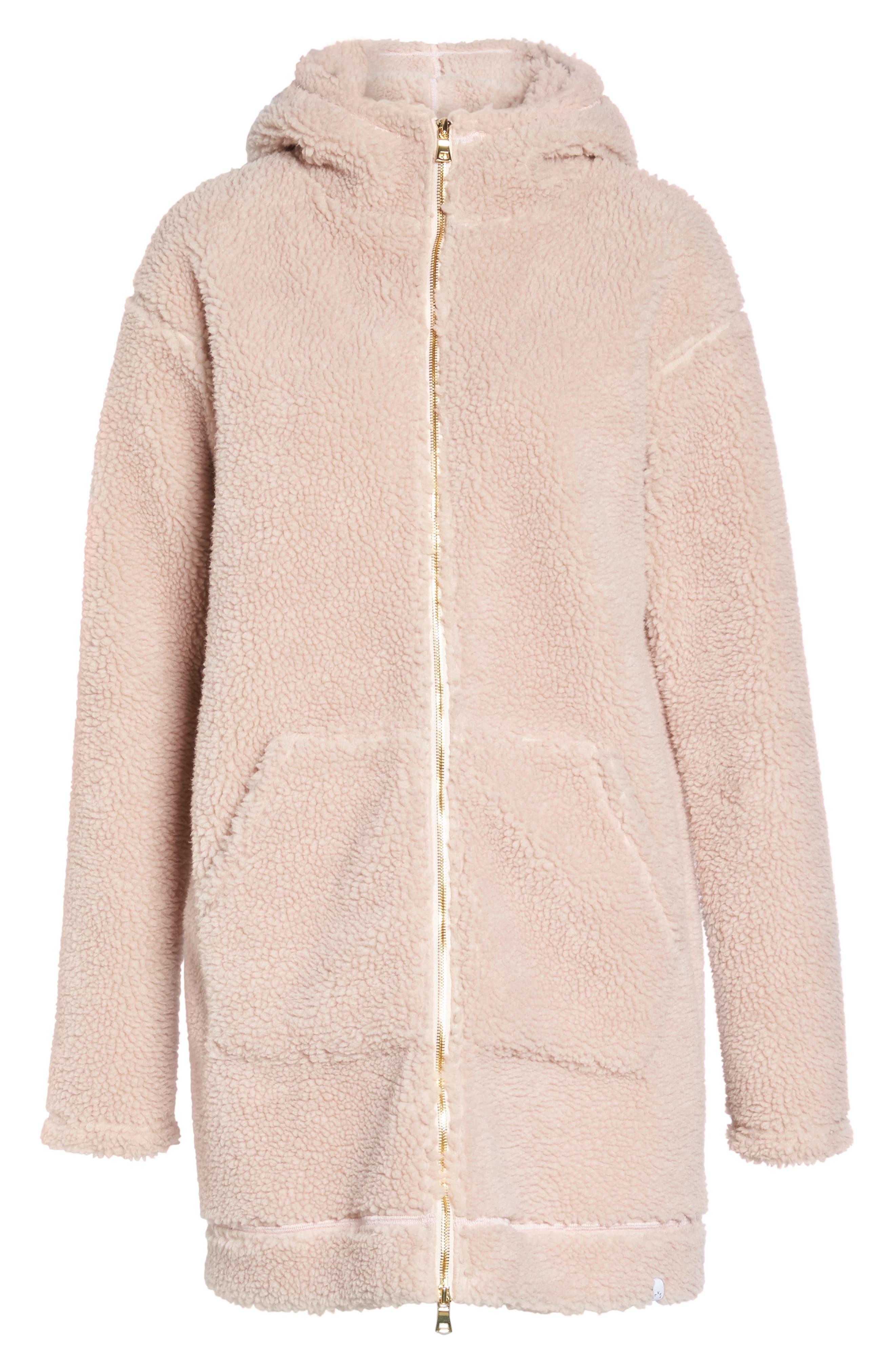 Brea Fleece Jacket,                             Alternate thumbnail 6, color,                             680