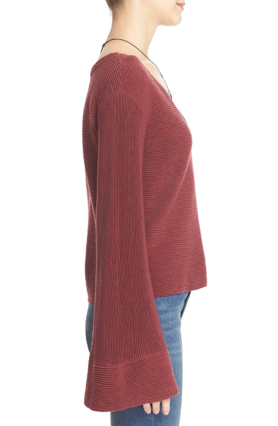 'Starman' Rib Knit Pullover,                             Alternate thumbnail 9, color,