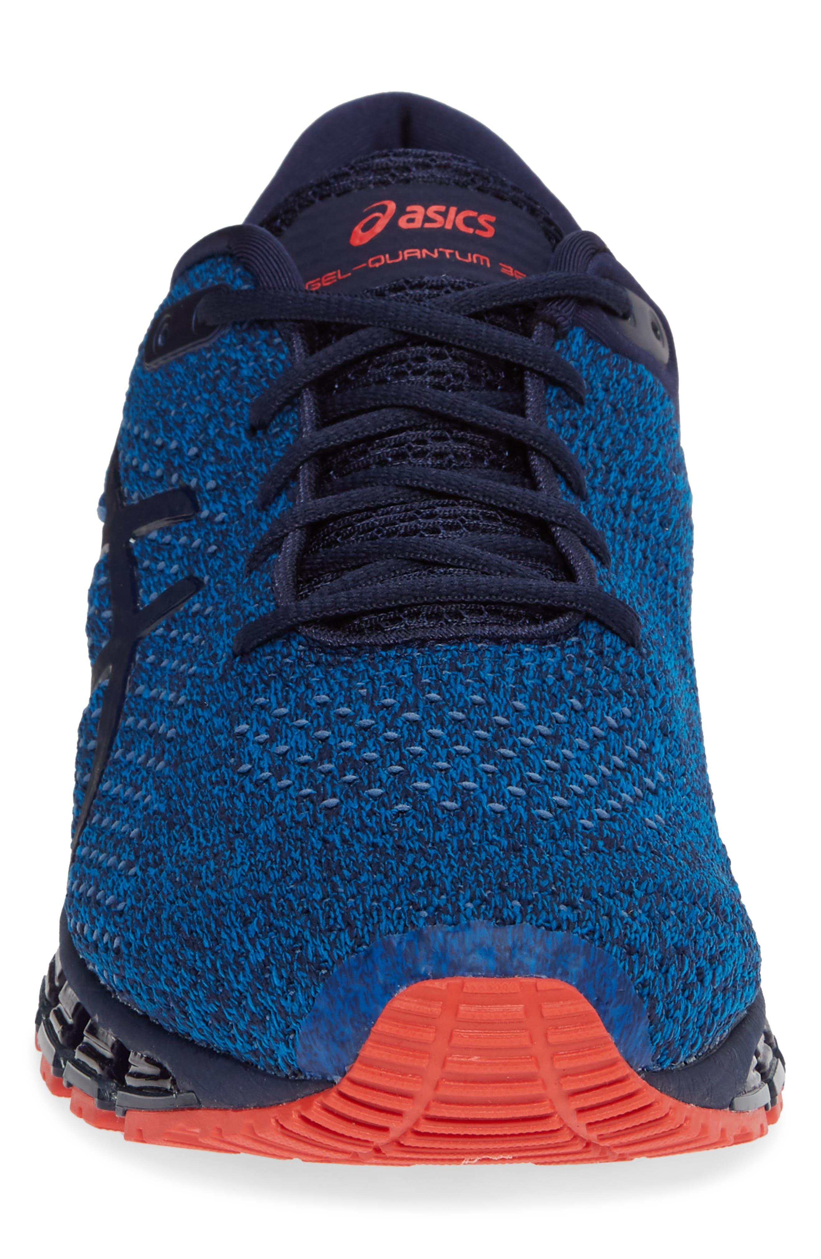 GEL-Quantum 360 Running Shoe,                             Alternate thumbnail 4, color,                             RACE BLUE