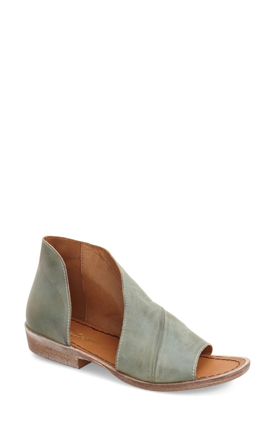 'Mont Blanc' Asymmetrical Sandal,                             Main thumbnail 13, color,