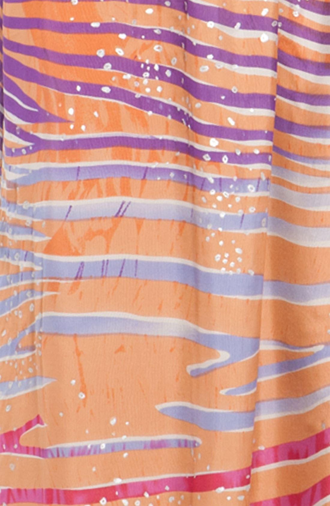'Jaclyn' Silk Chiffon Maxi Dress,                             Alternate thumbnail 3, color,                             650