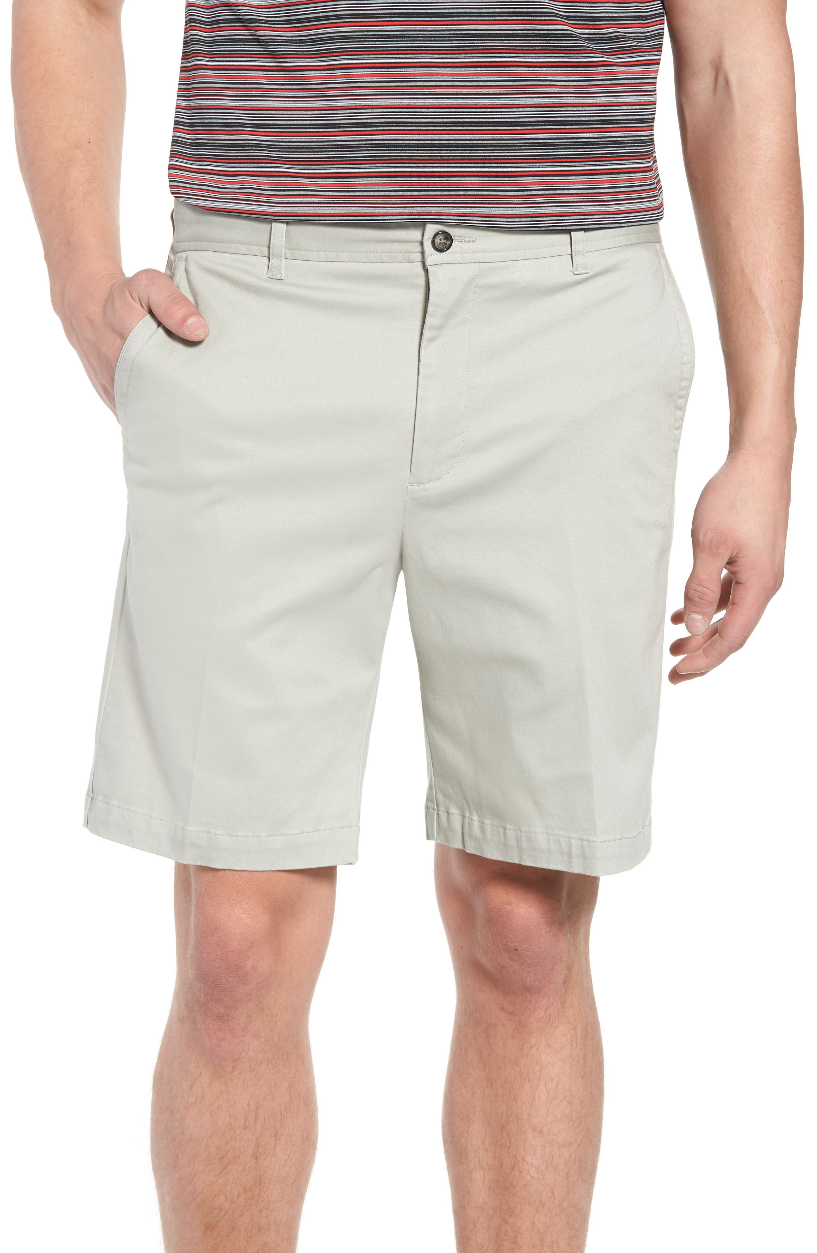 St. Charles Stretch Twill Shorts,                             Main thumbnail 1, color,                             051