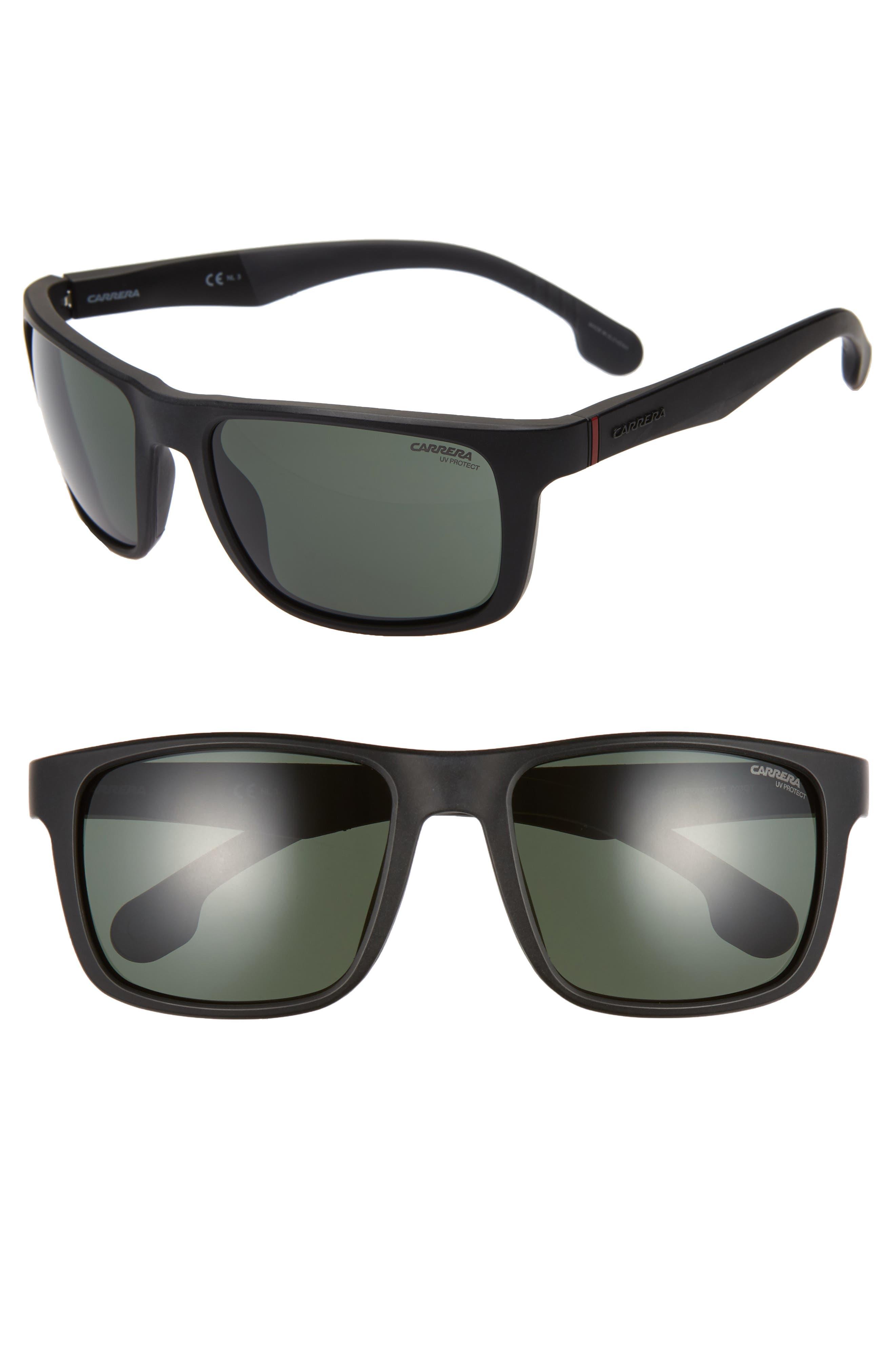 Carrera Eyewear 57Mm Wrap Sunglasses - Matte Black