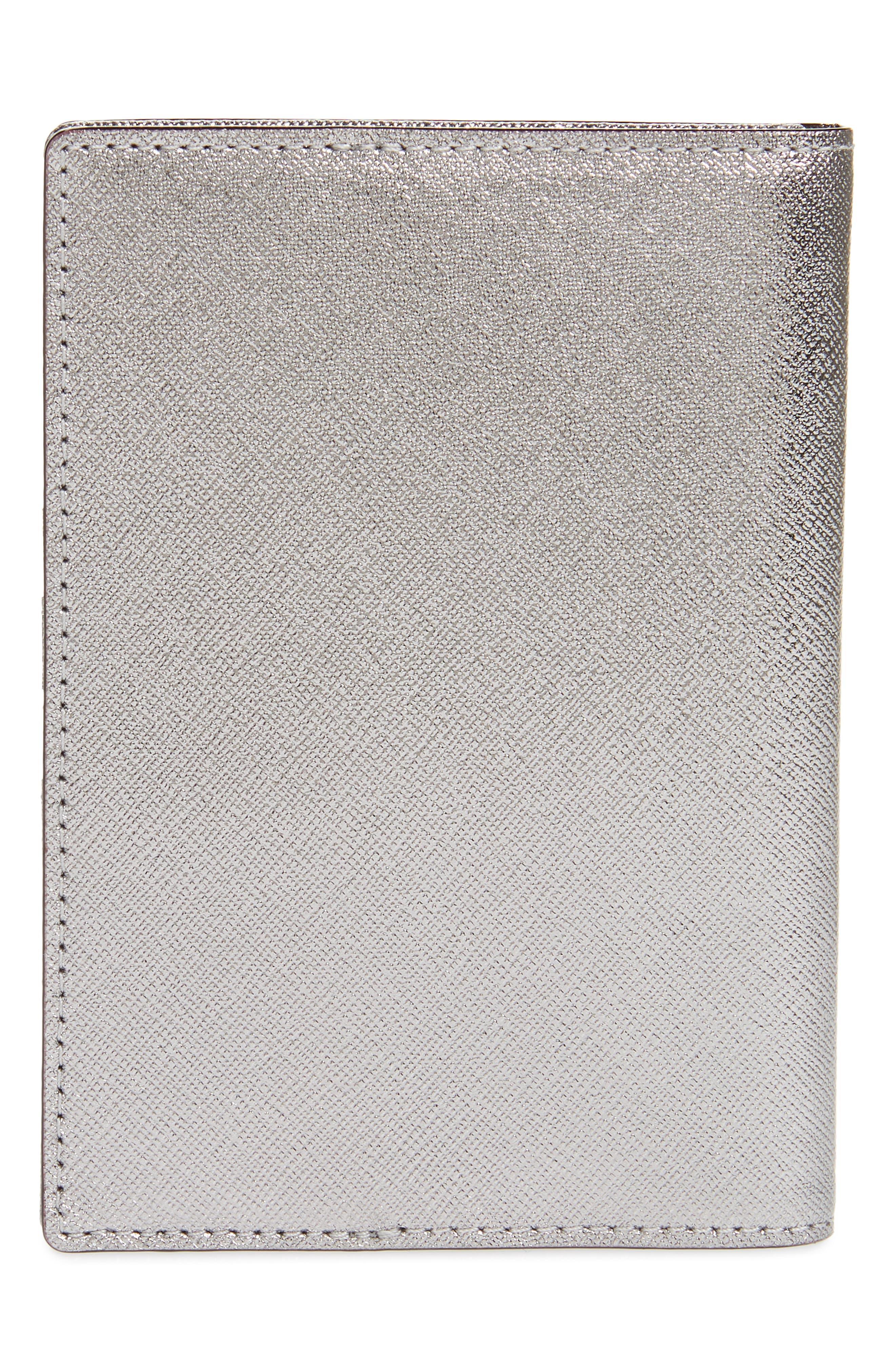 'cameron street' leather passport holder,                             Alternate thumbnail 4, color,                             040
