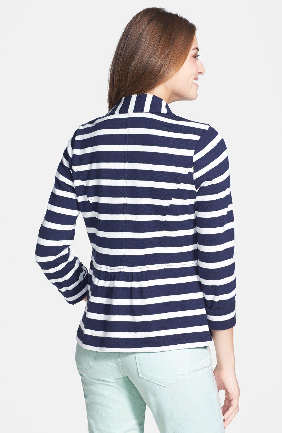 Cotton Knit Jacket,                             Alternate thumbnail 20, color,