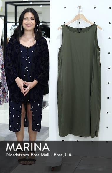 Stretch Silk Tank Dress, sales video thumbnail