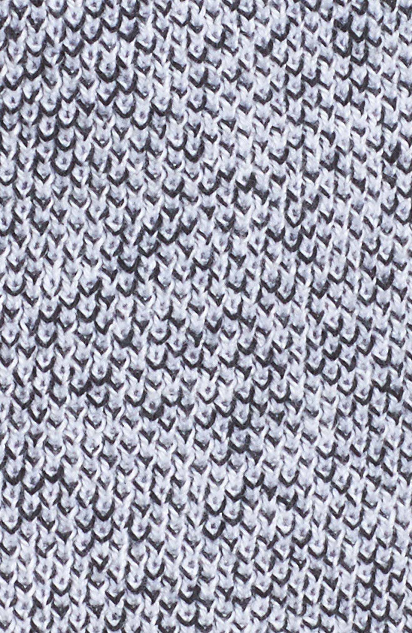 Tie Waist Knit Hooded Jacket,                             Alternate thumbnail 7, color,                             002