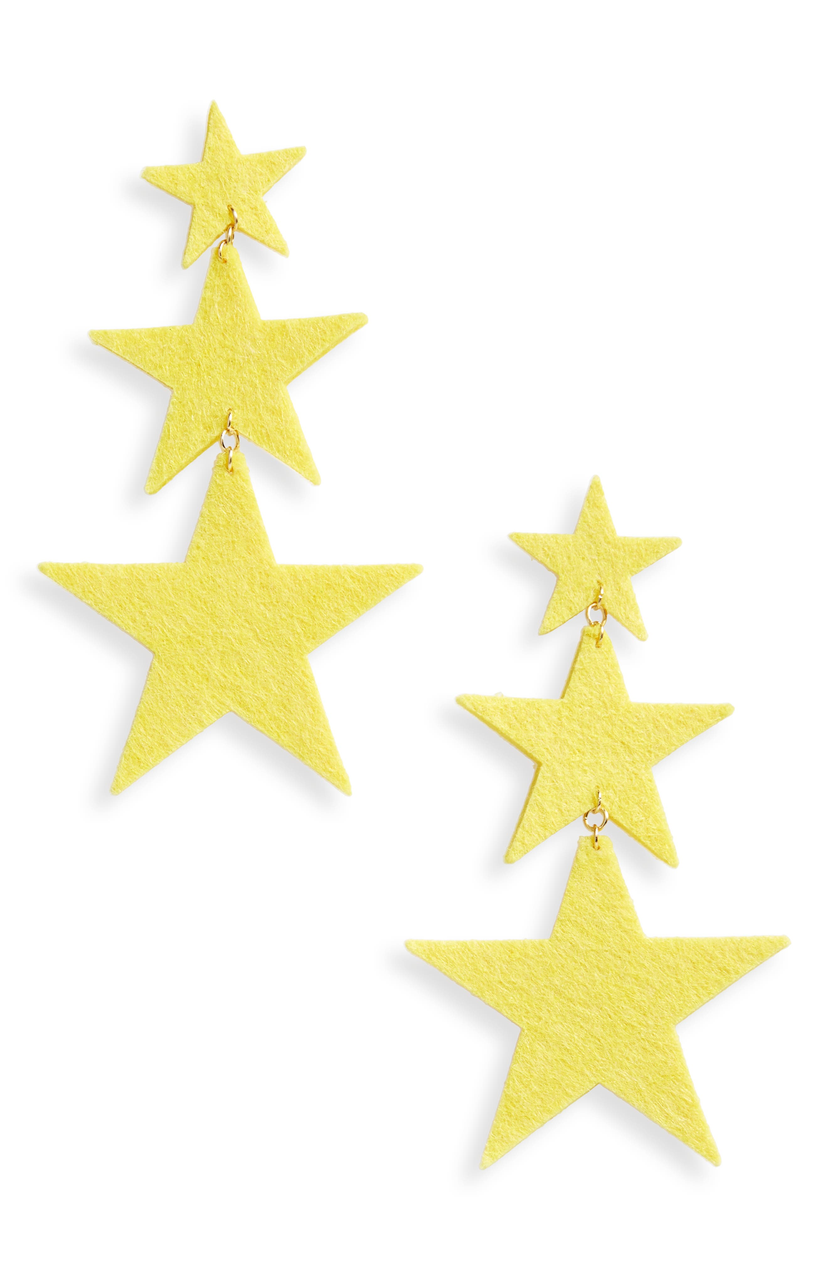 Star Earrings,                         Main,                         color, 710
