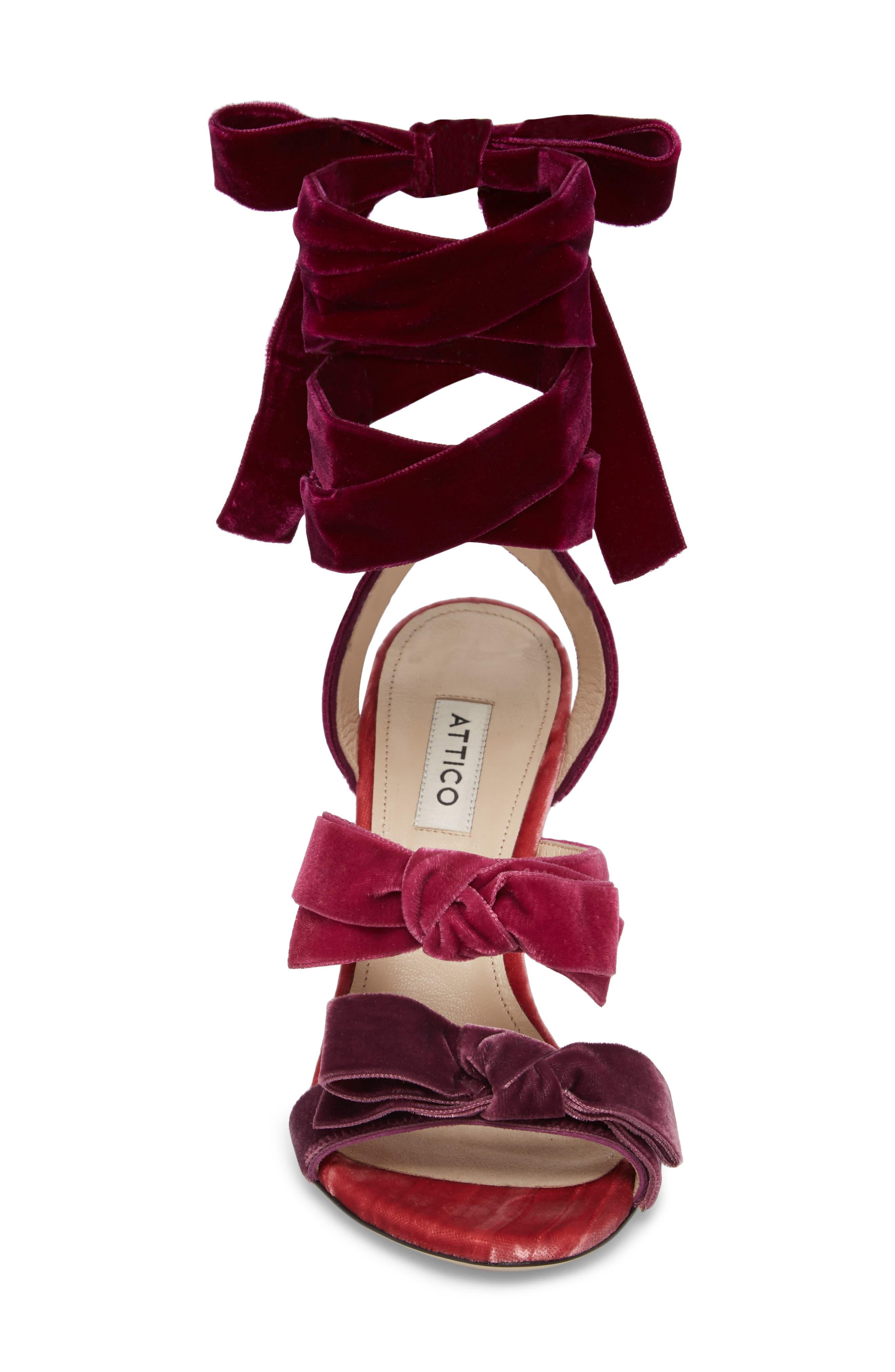 Diletta Ankle Wrap Sandal,                             Alternate thumbnail 4, color,                             500