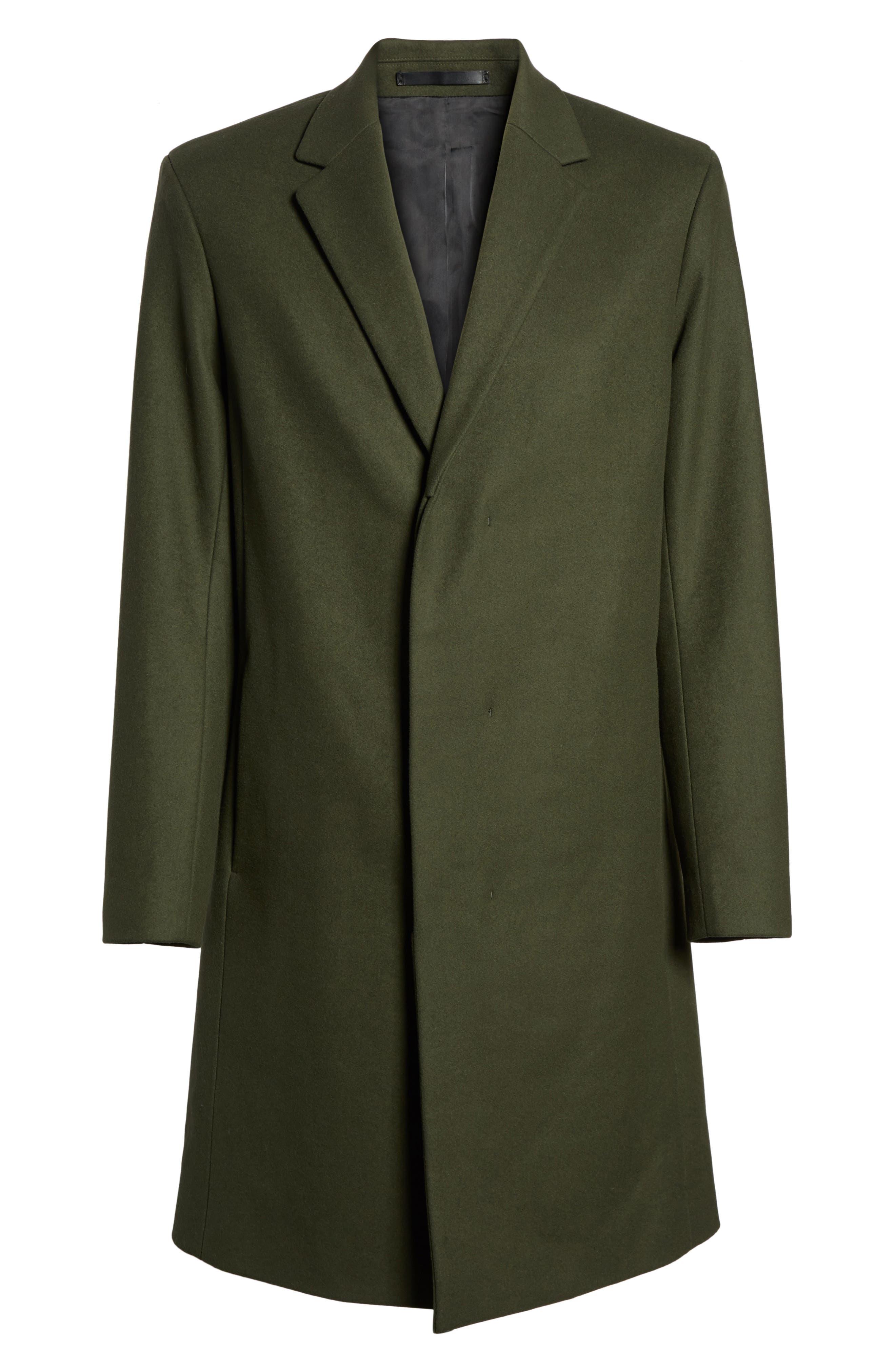 Bower Melton Wool Blend Topcoat,                             Alternate thumbnail 14, color,