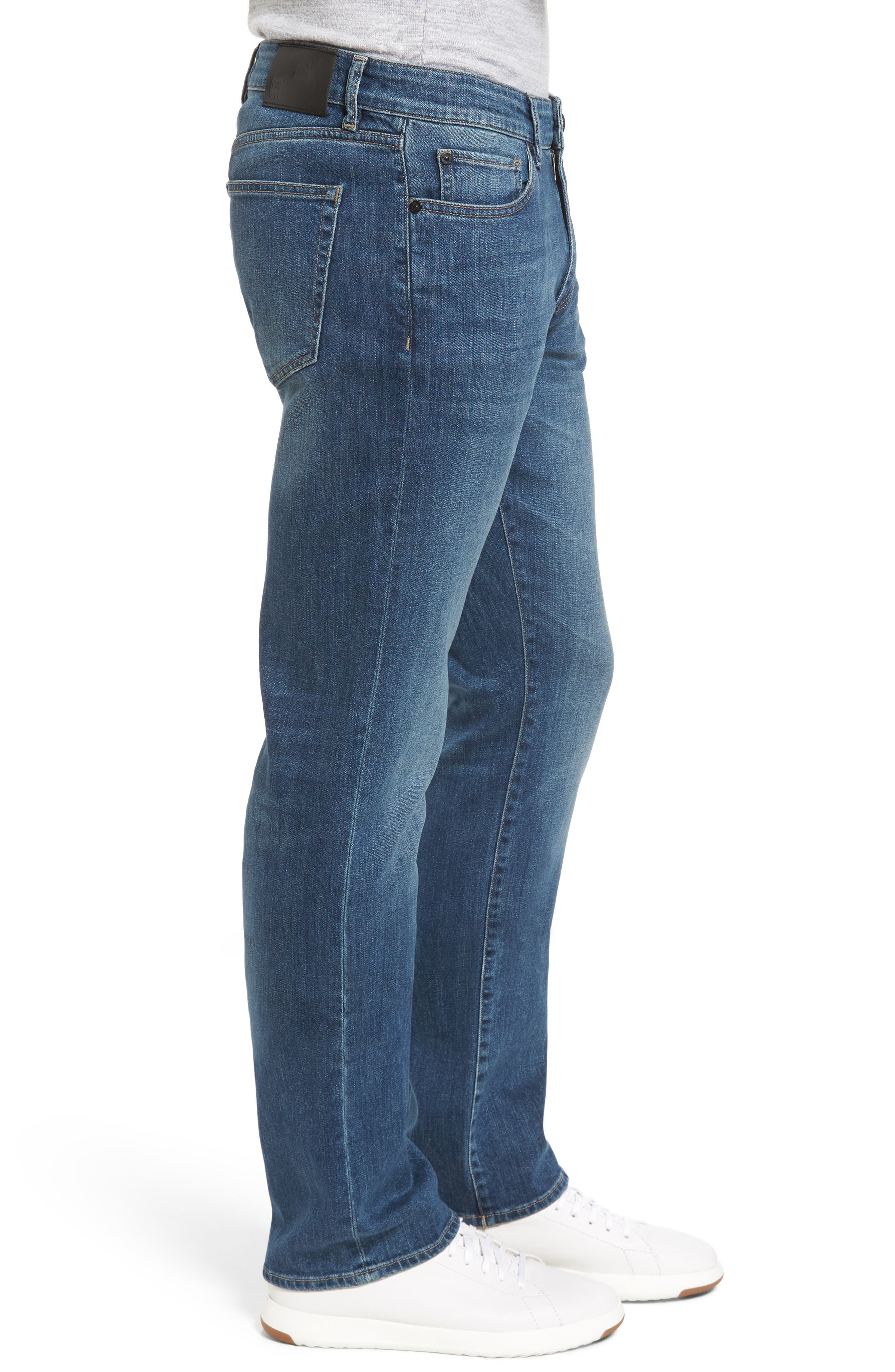 Avery Slim Straight Leg Jeans,                             Alternate thumbnail 3, color,