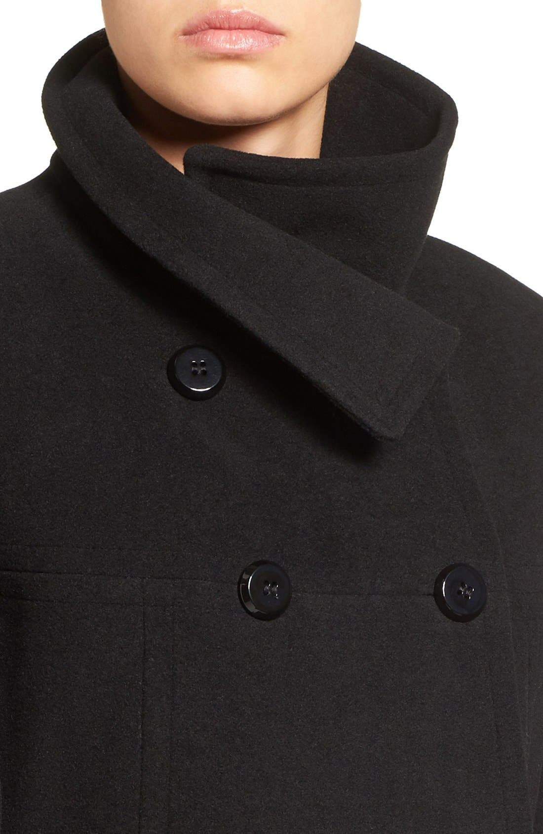 Double Breasted Coat,                             Alternate thumbnail 22, color,
