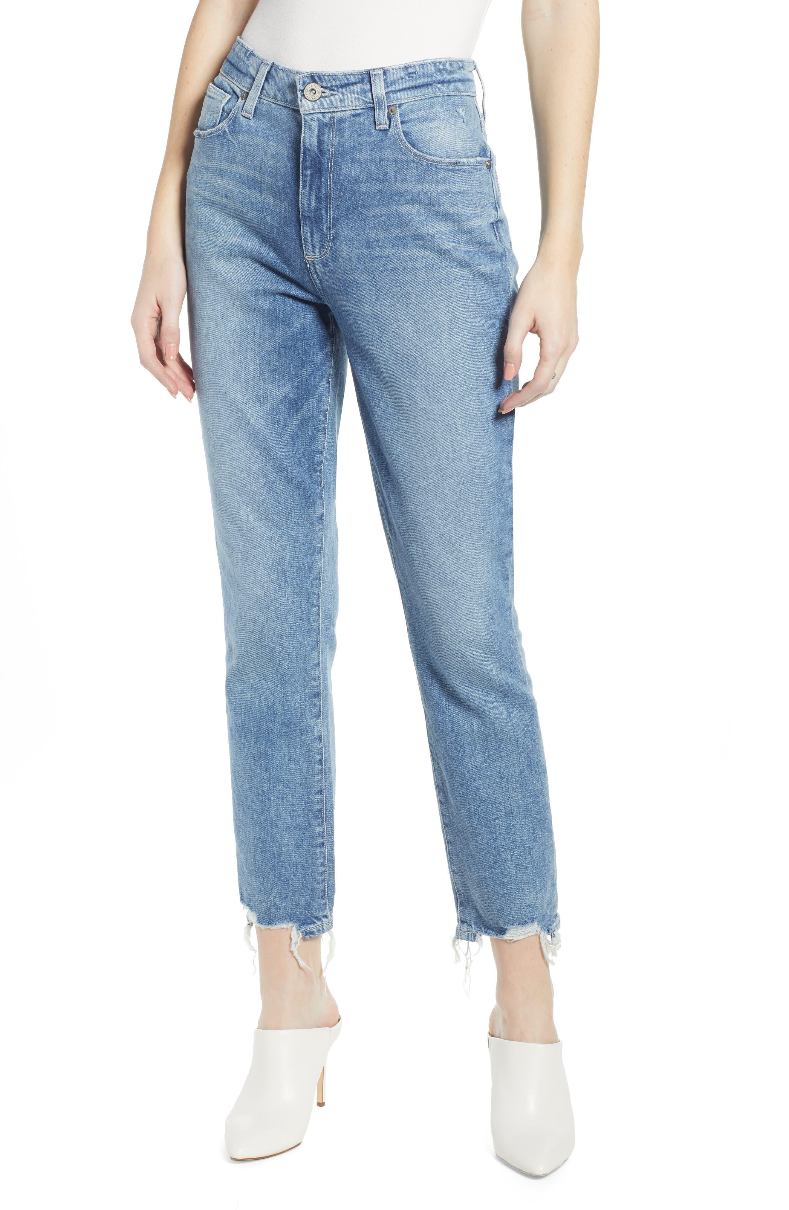 Women's Paige Vintage - Sarah High Waist Ankle Slim Jeans