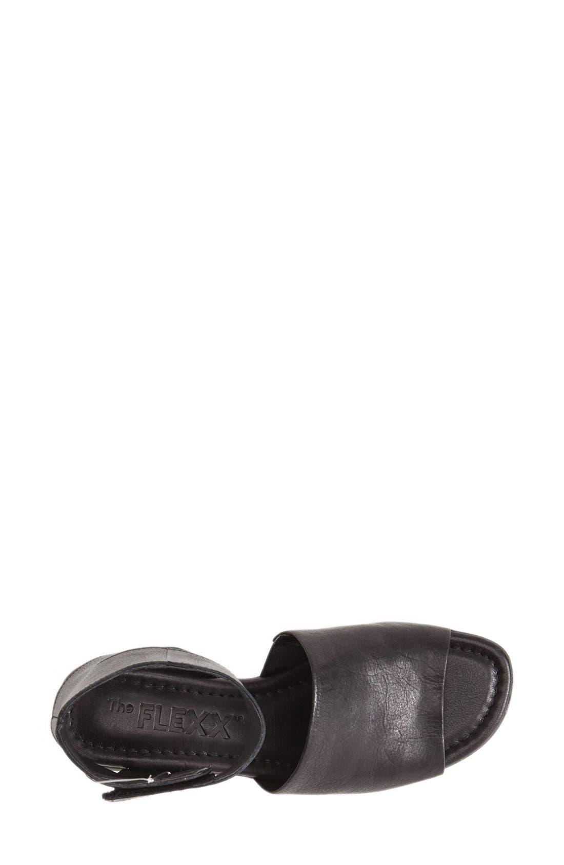 'Beglad' Leather Ankle Strap Sandal,                             Alternate thumbnail 38, color,