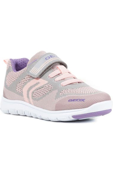 6a76cee408 Geox Xunday Low Top Woven Sneaker (Toddler, Little Kid & Big Kid ...