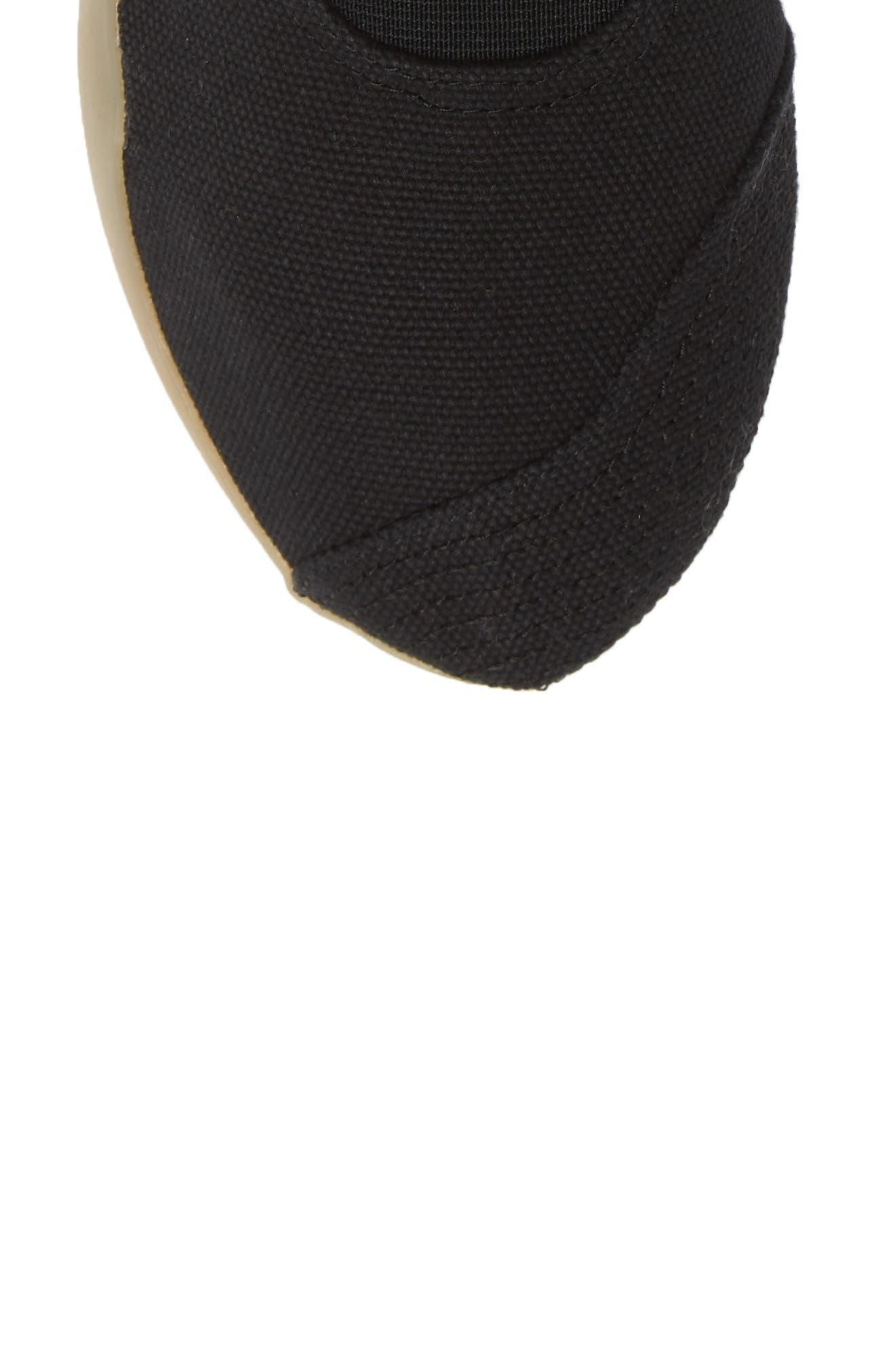 Taekwondo Slip-On Sneaker,                             Alternate thumbnail 5, color,                             CORE BLACK/ WHITE/ GUM 3