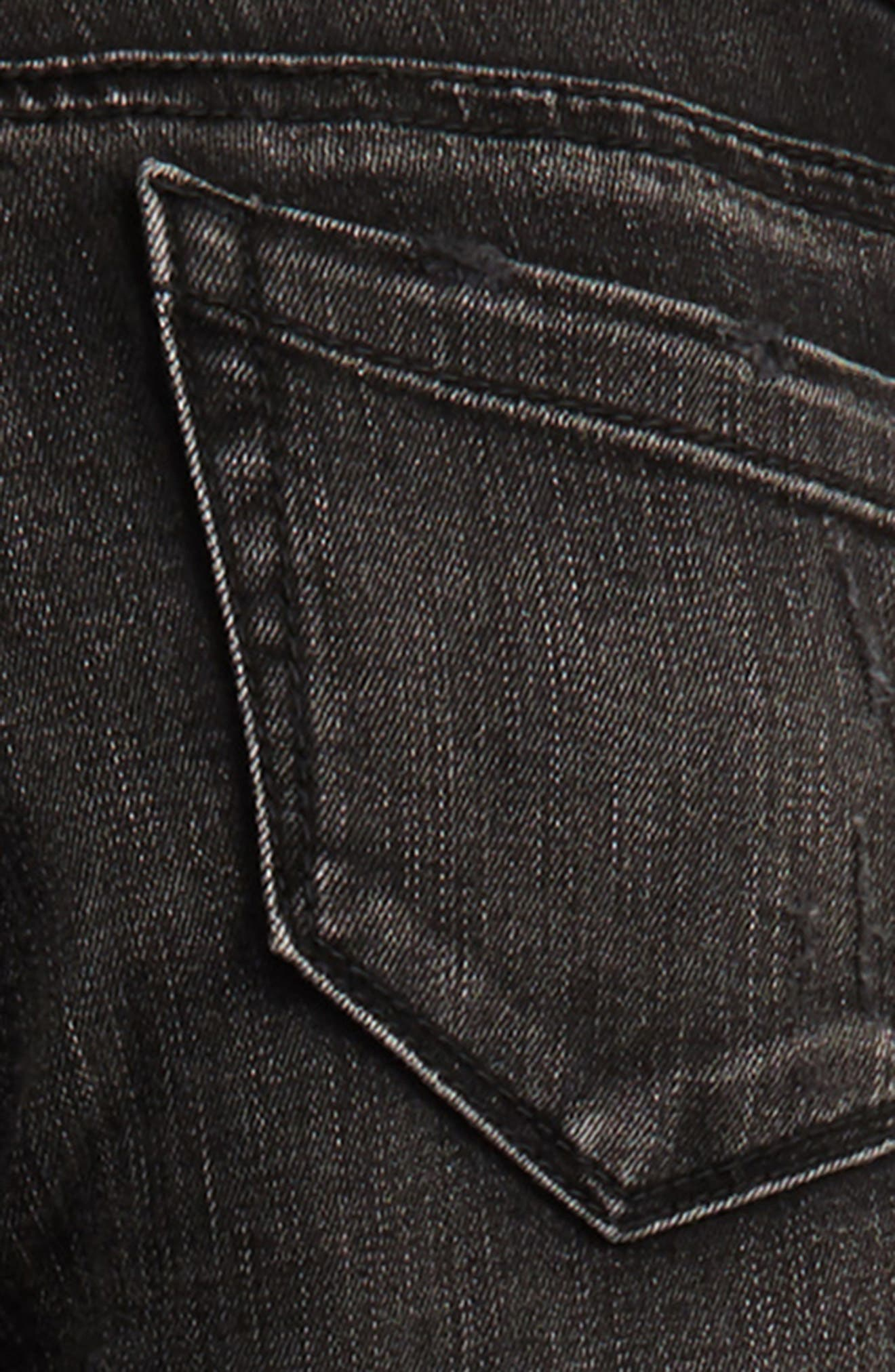 Destroyed Skinny Jeans,                             Alternate thumbnail 3, color,                             001