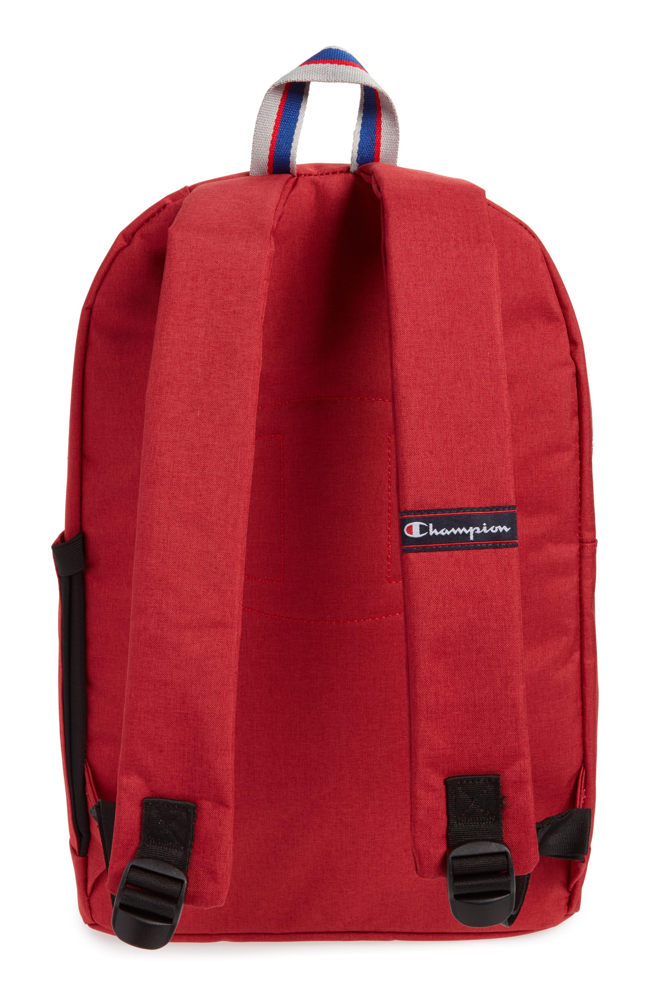 Supercize Backpack,                             Alternate thumbnail 3, color,                             SCARLET HEATHER