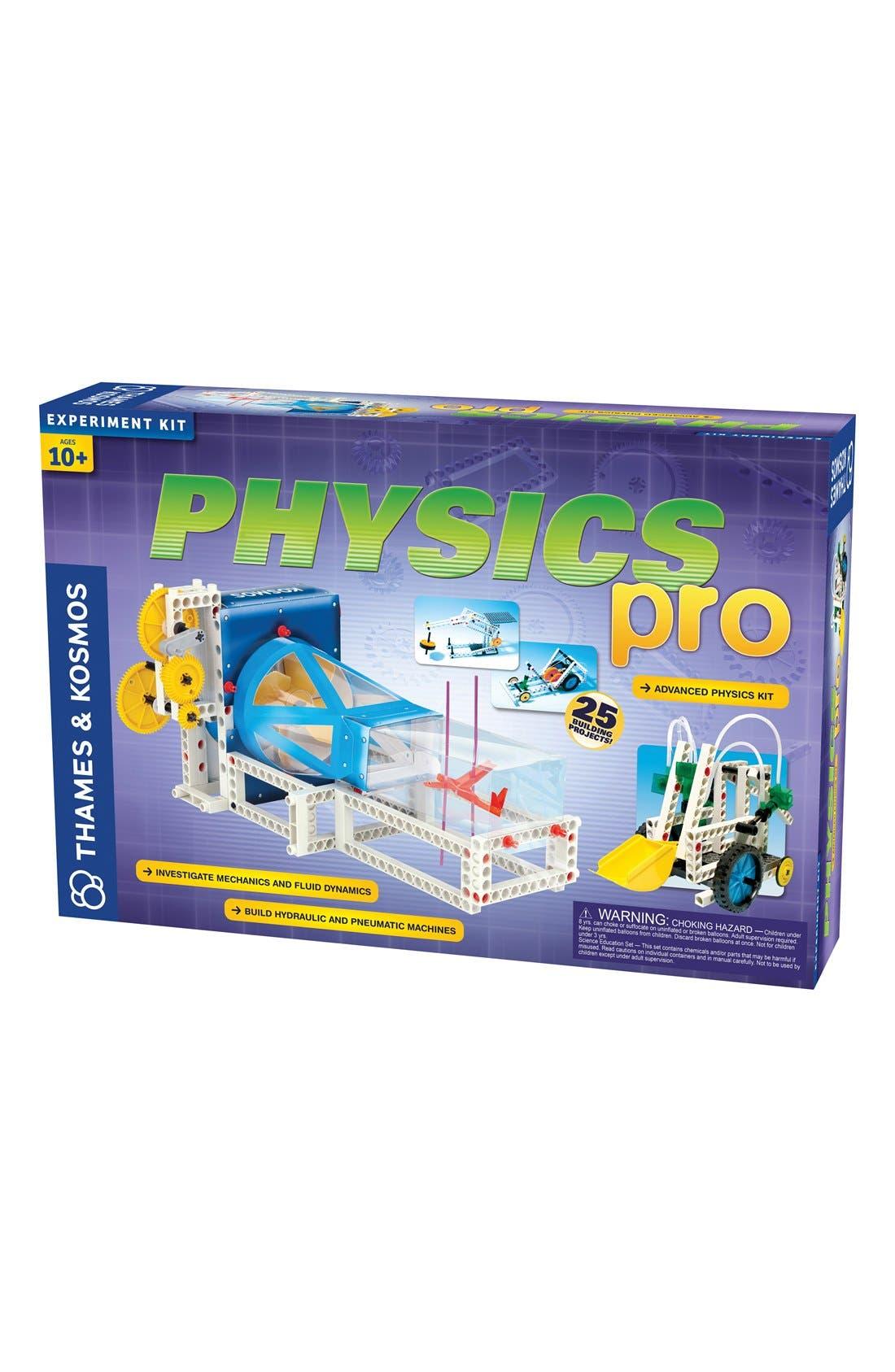 'Physics Pro - V2.0' Experiment Kit,                             Main thumbnail 1, color,                             BLUE