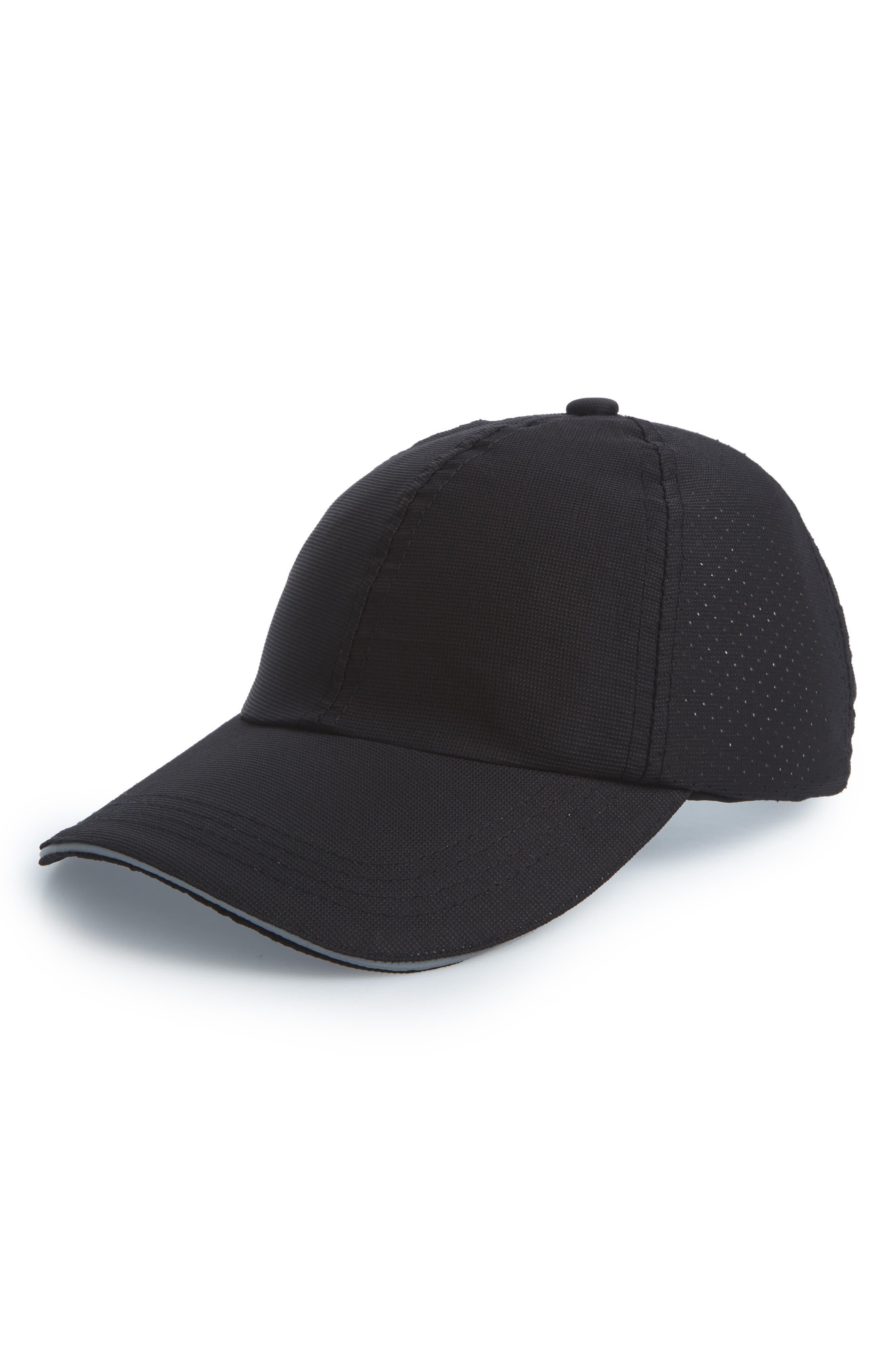 Perforated Run Hat,                         Main,                         color, 001