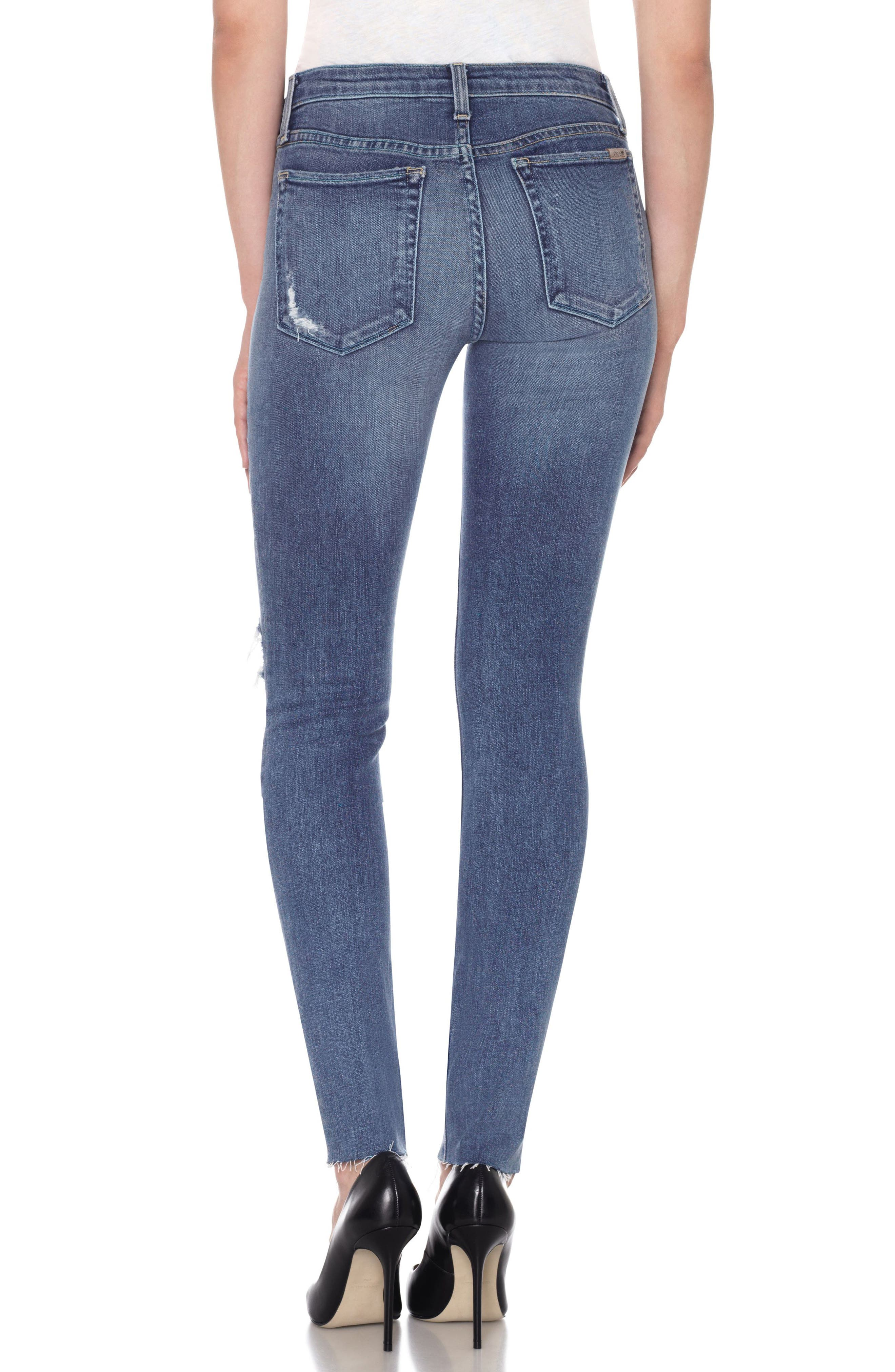 Icon High Waist Skinny Jeans,                             Alternate thumbnail 2, color,                             415
