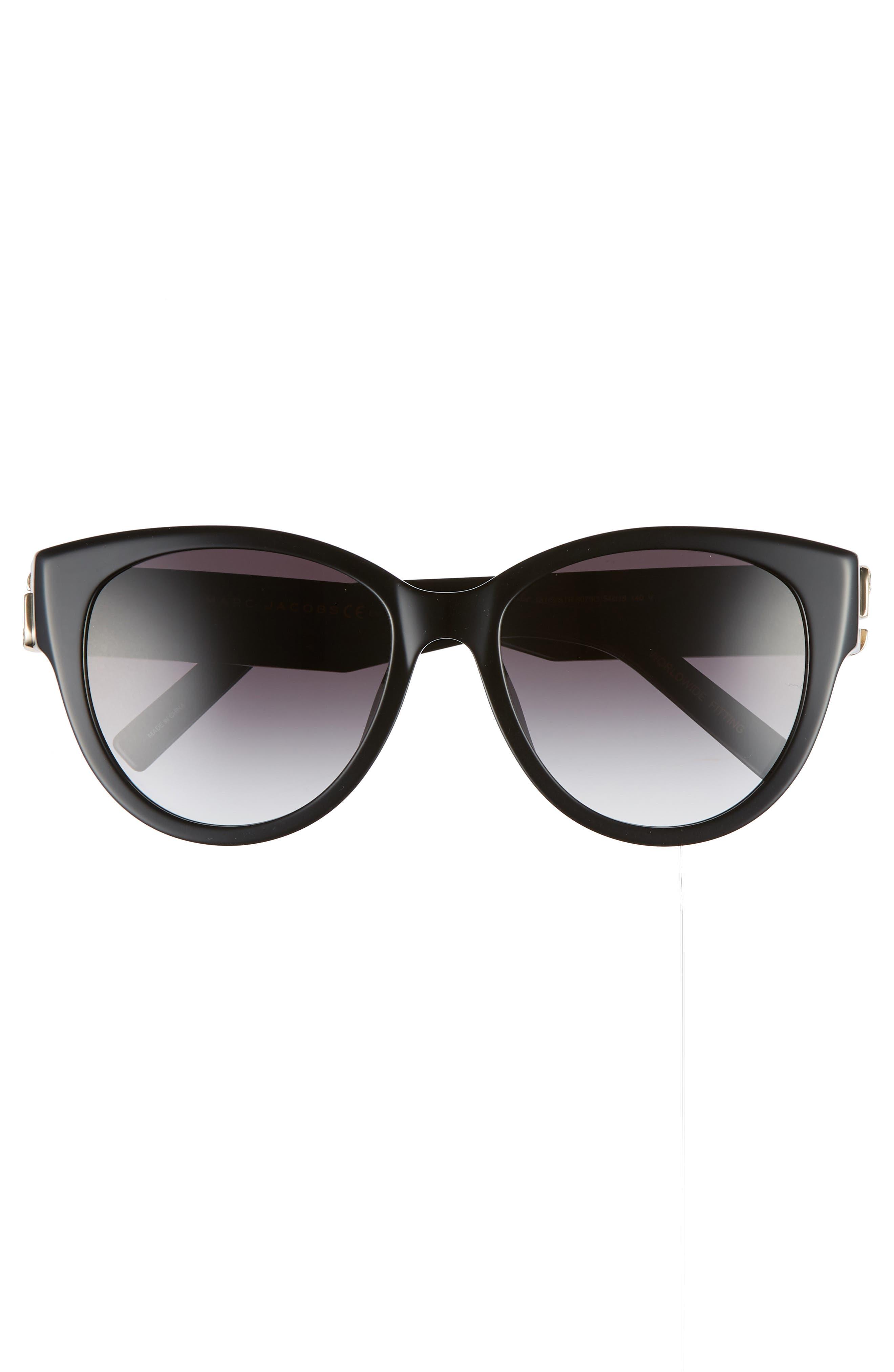 61mm Rimless Gradient Cat Eye Sunglasses,                             Alternate thumbnail 5, color,