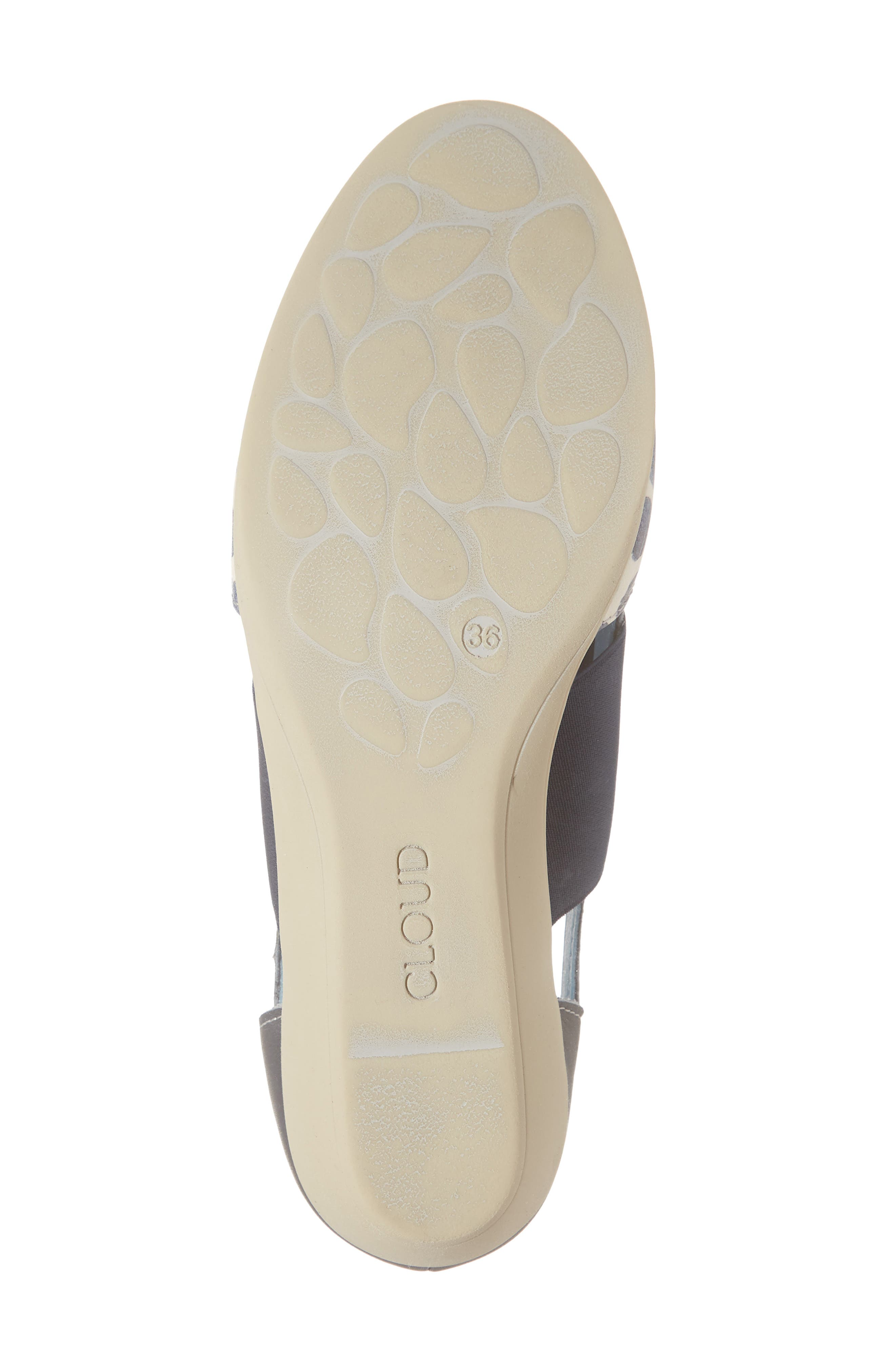 CLOUD,                             'Canary' Skimmer Sandal,                             Alternate thumbnail 6, color,                             TUPAI BLUE LEATHER