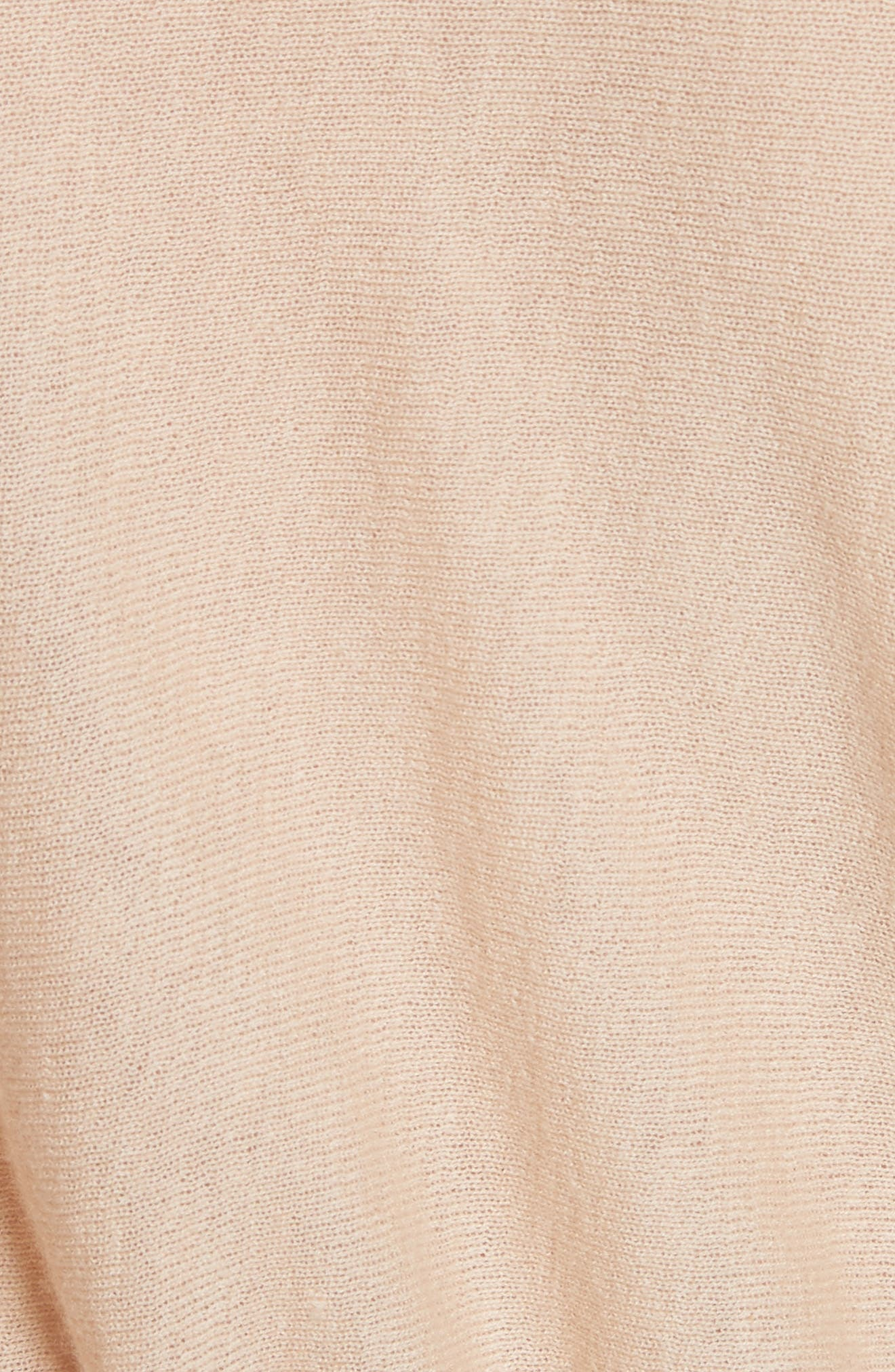 VINCE,                             Cinched Back Cashmere Sweater,                             Alternate thumbnail 5, color,                             298