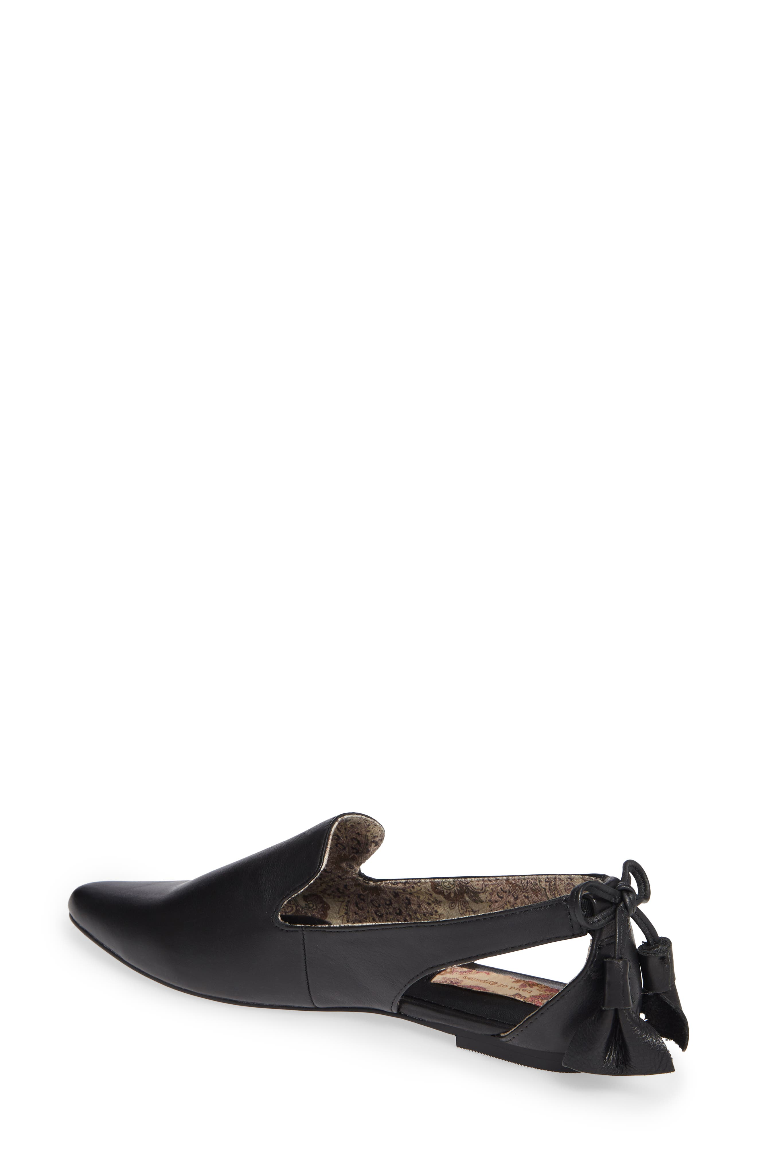 Songbird Loafer,                             Alternate thumbnail 2, color,                             BLACK LEATHER