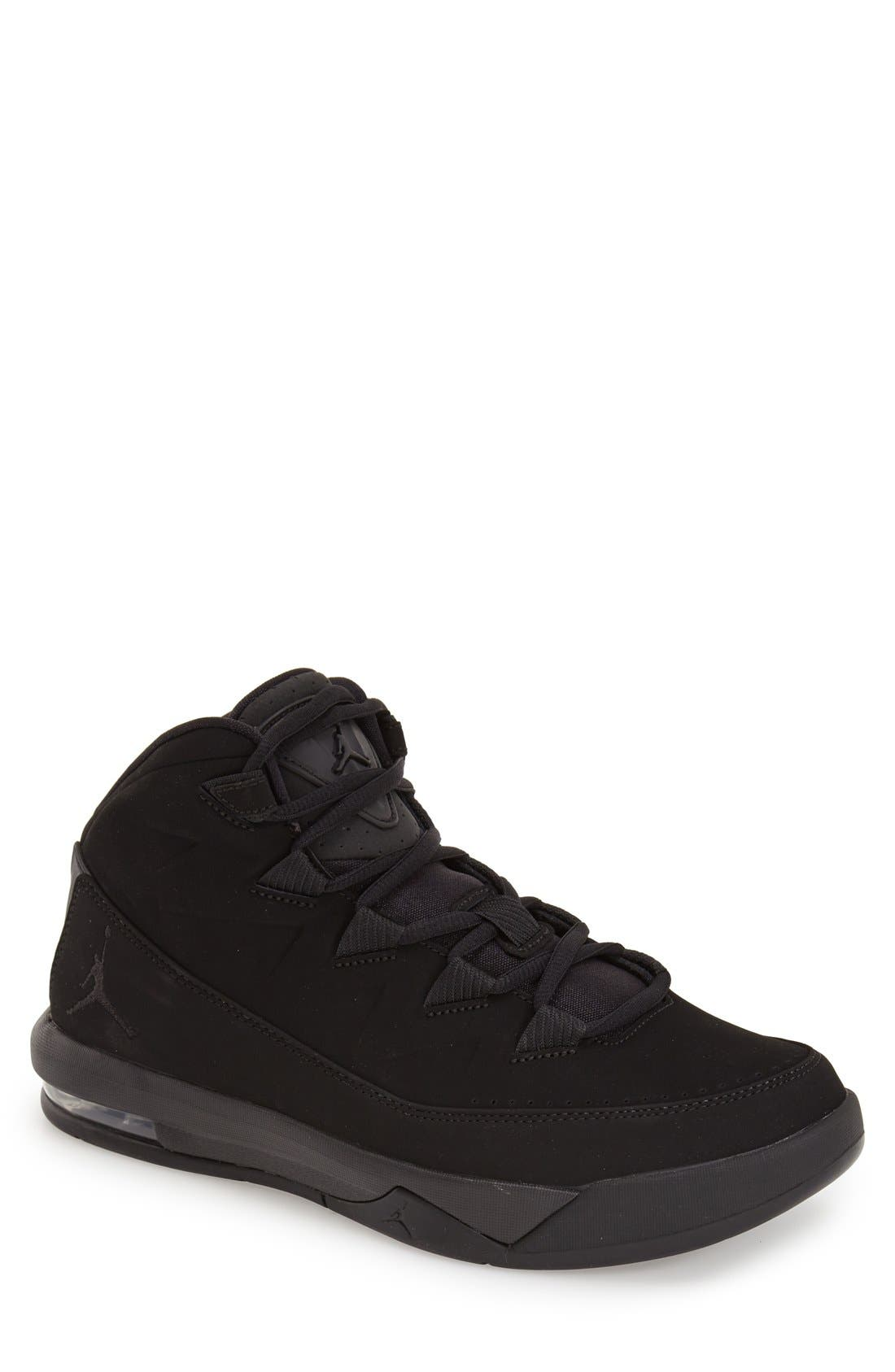 'Jordan Air Deluxe' Sneaker, Main, color, 010