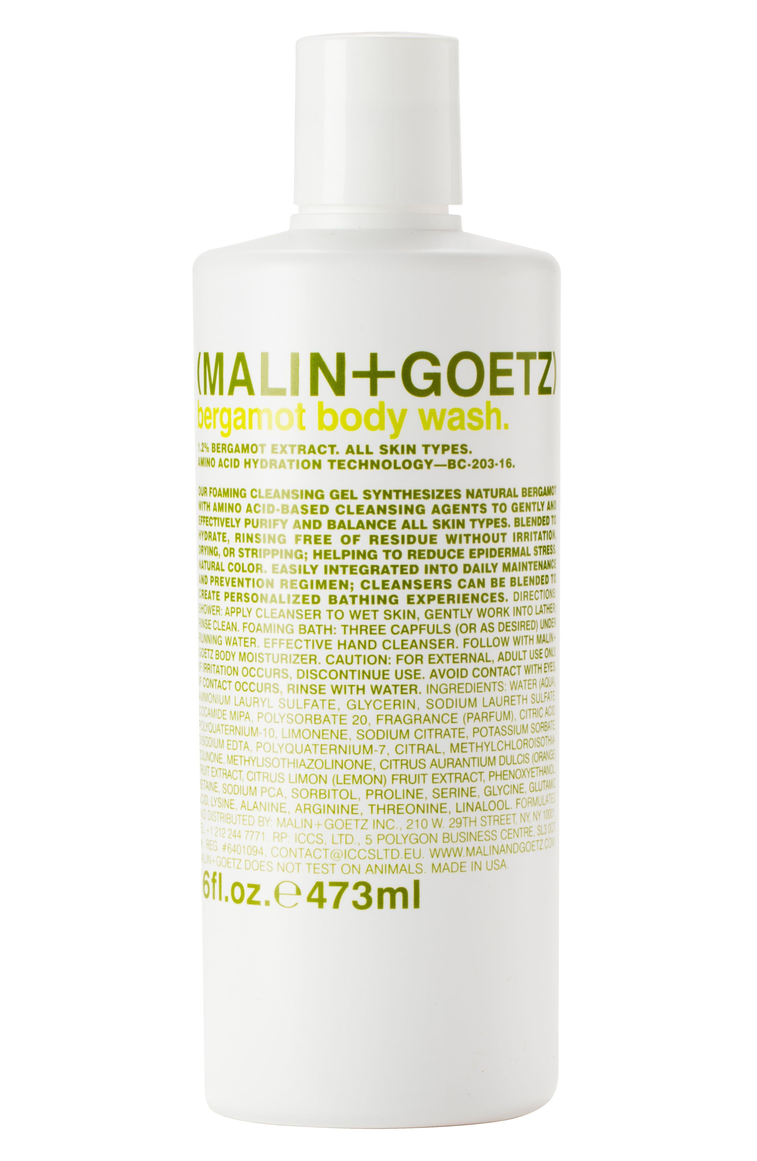 Bergamot Body Wash,                         Main,                         color, NO COLOR