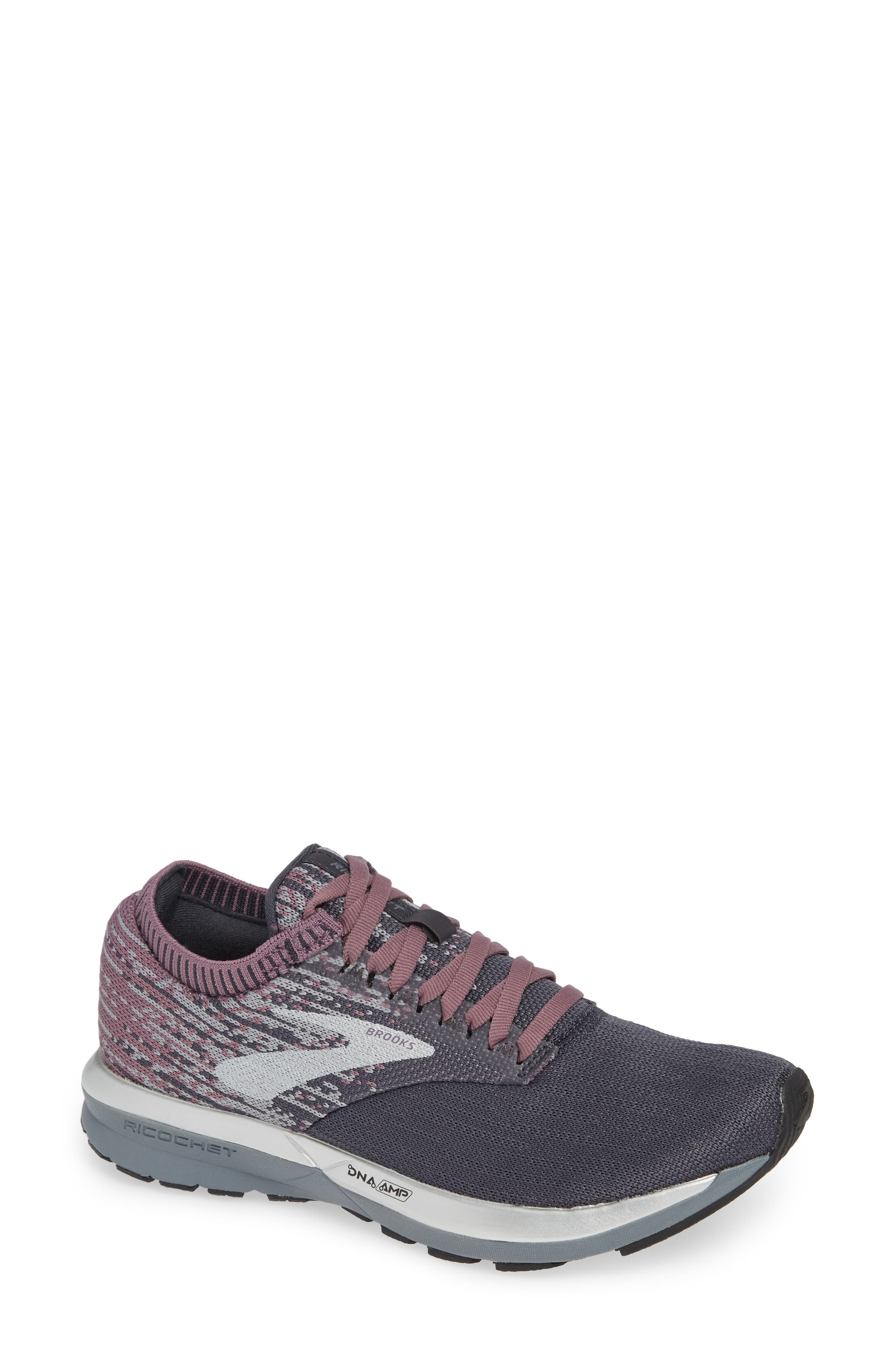 Brooks Ricochet Running Shoe, Grey
