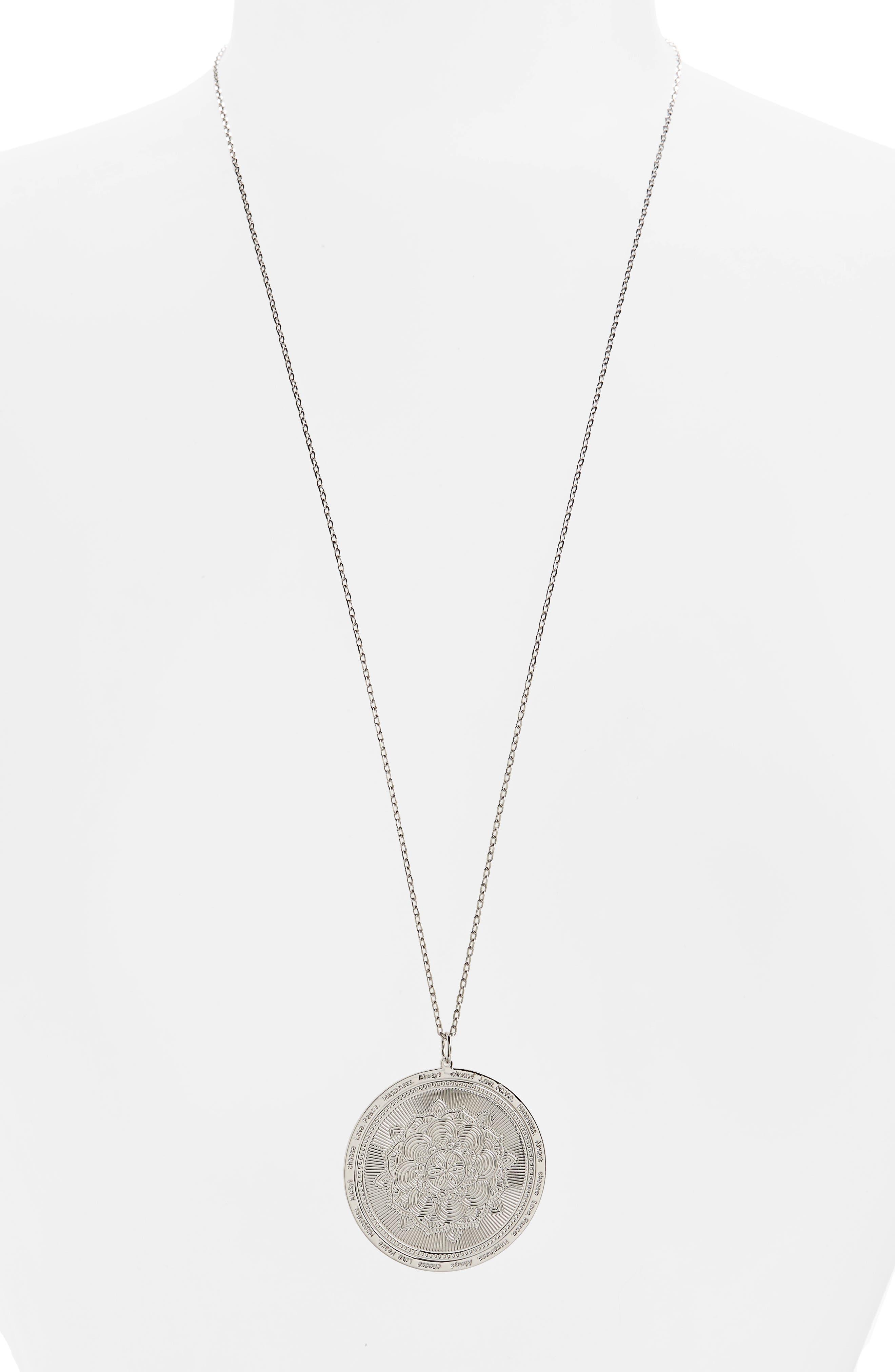 Always Choose Love Pendant Necklace,                         Main,                         color, 048