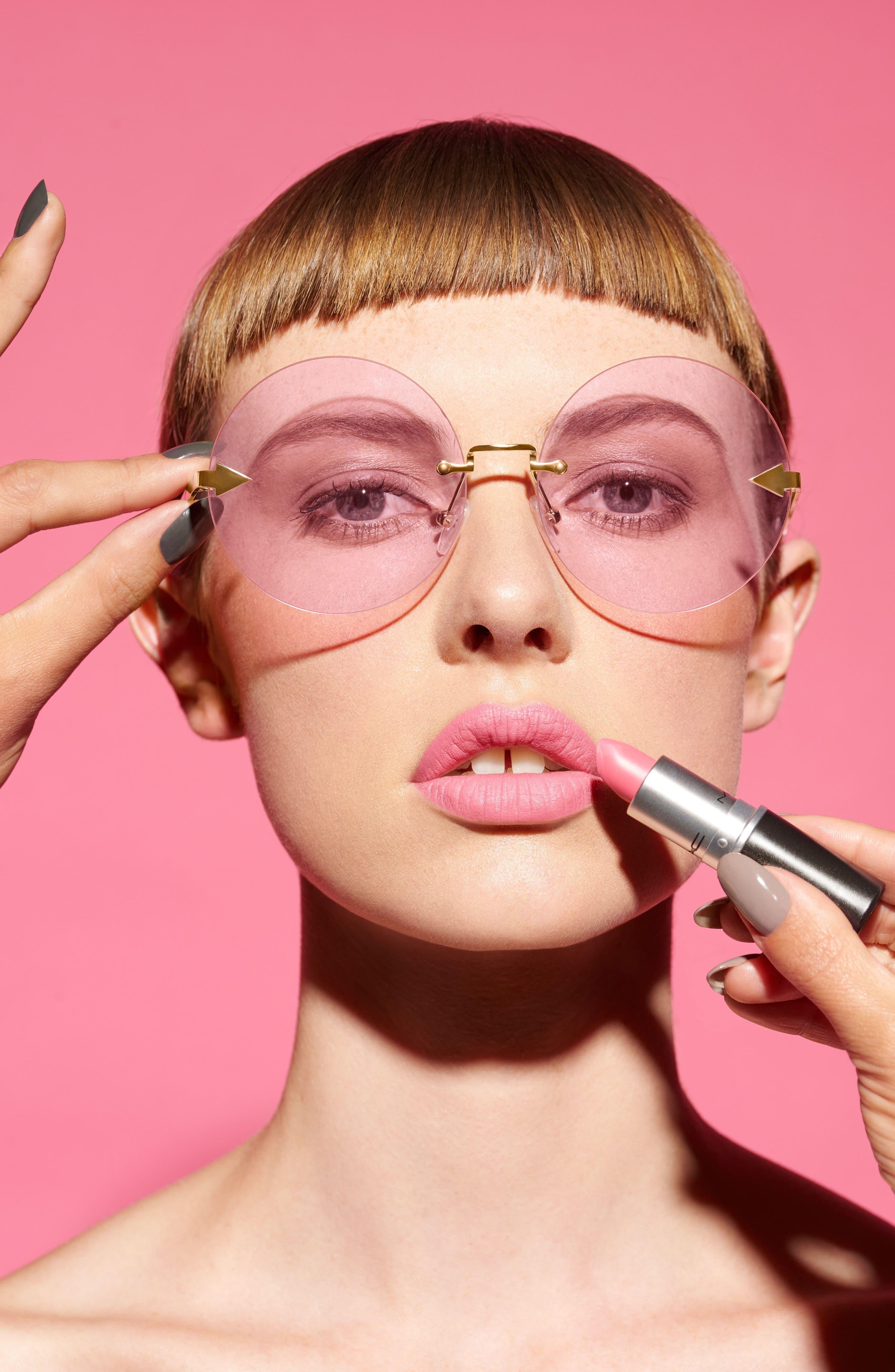 Disco Circus 60mm Rimless Round Sunglasses,                             Alternate thumbnail 25, color,