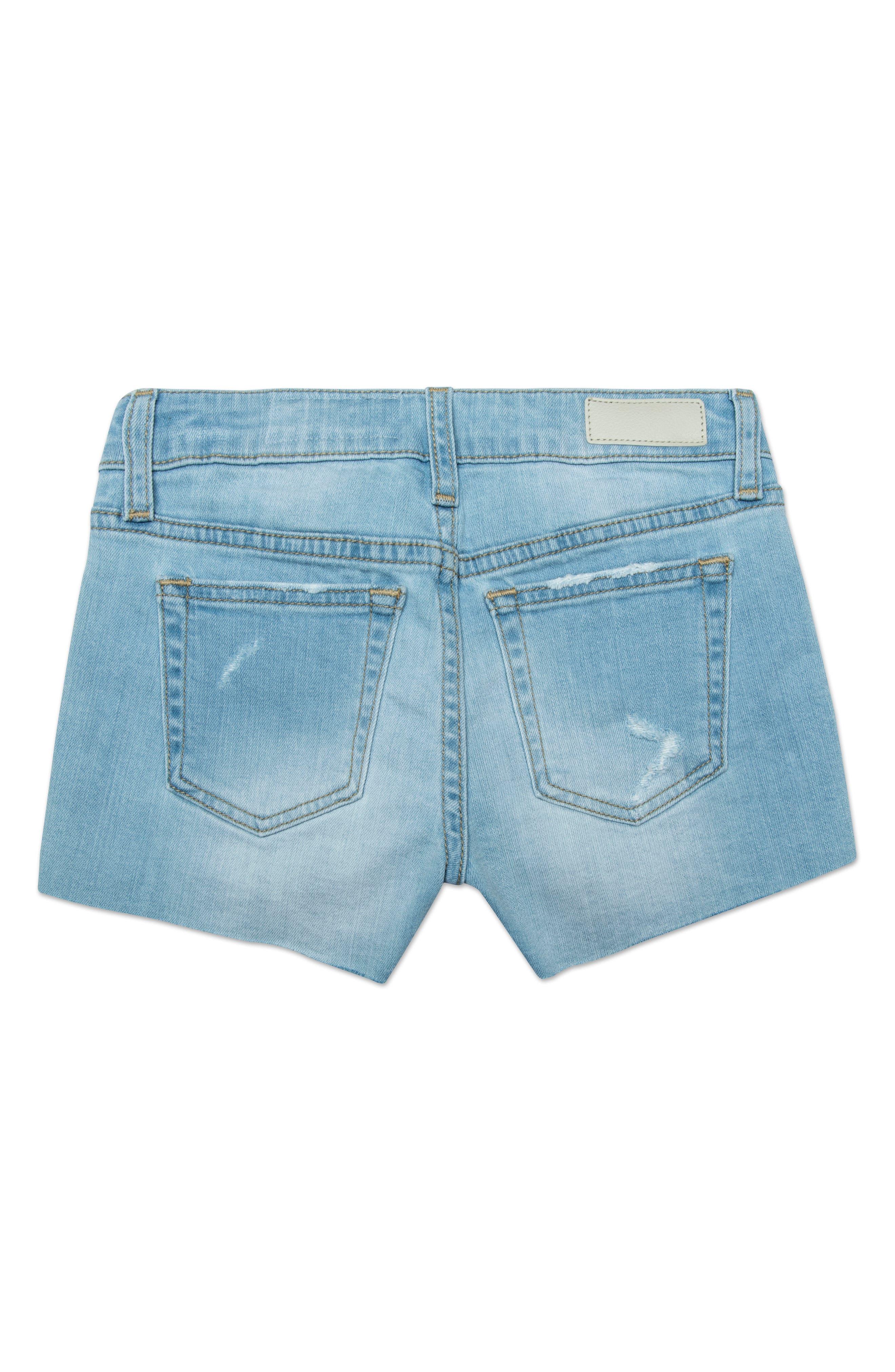The Shelby Cutoff Shorts,                             Alternate thumbnail 2, color,                             SKY