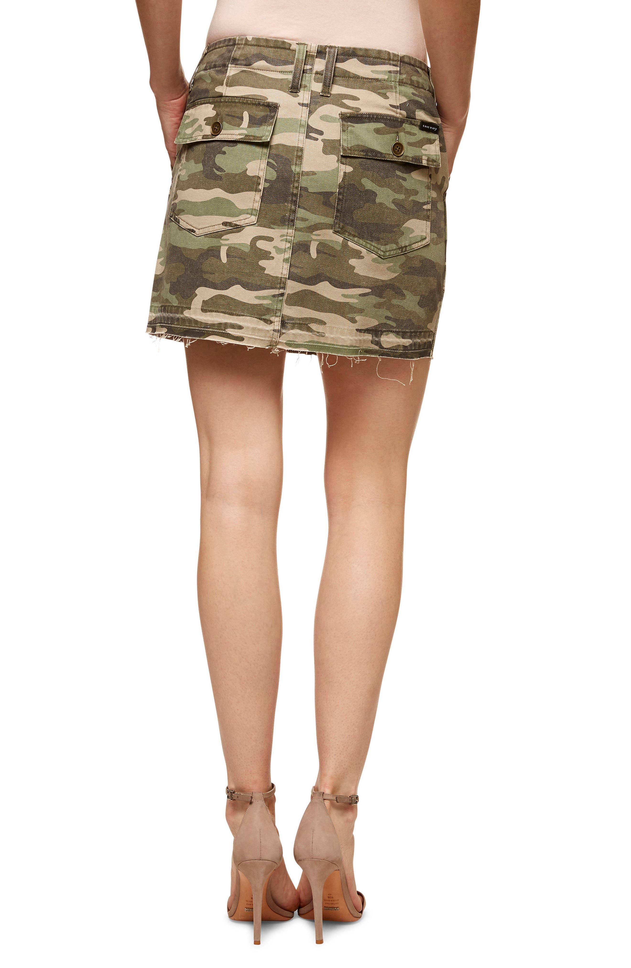 Safari Camo Skirt,                             Alternate thumbnail 2, color,                             393