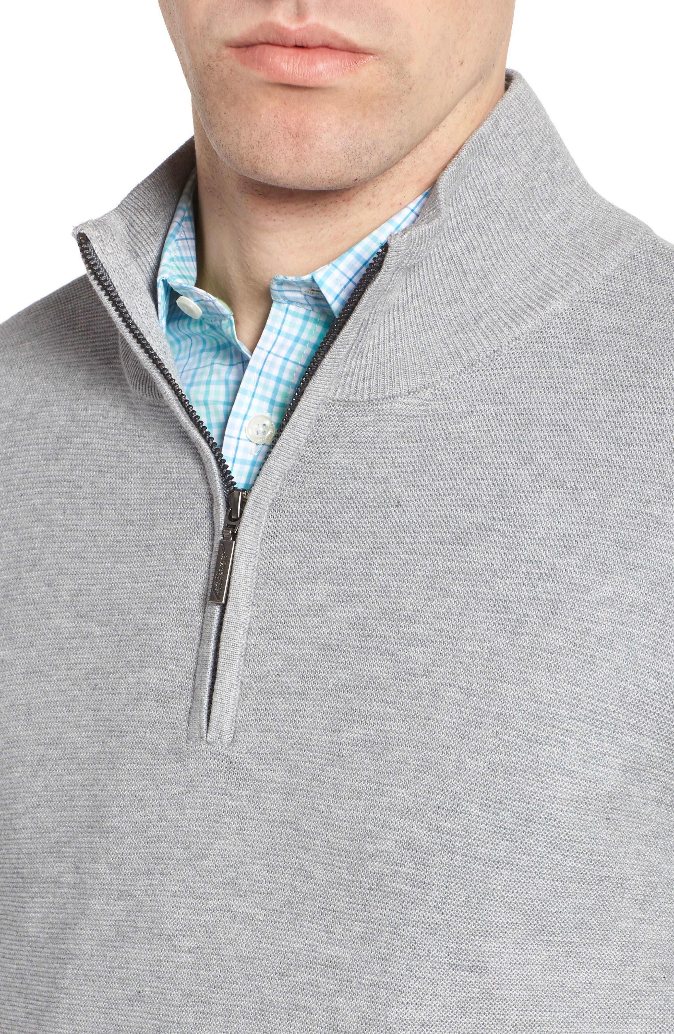 Quarter Zip Sweater,                             Alternate thumbnail 4, color,                             051