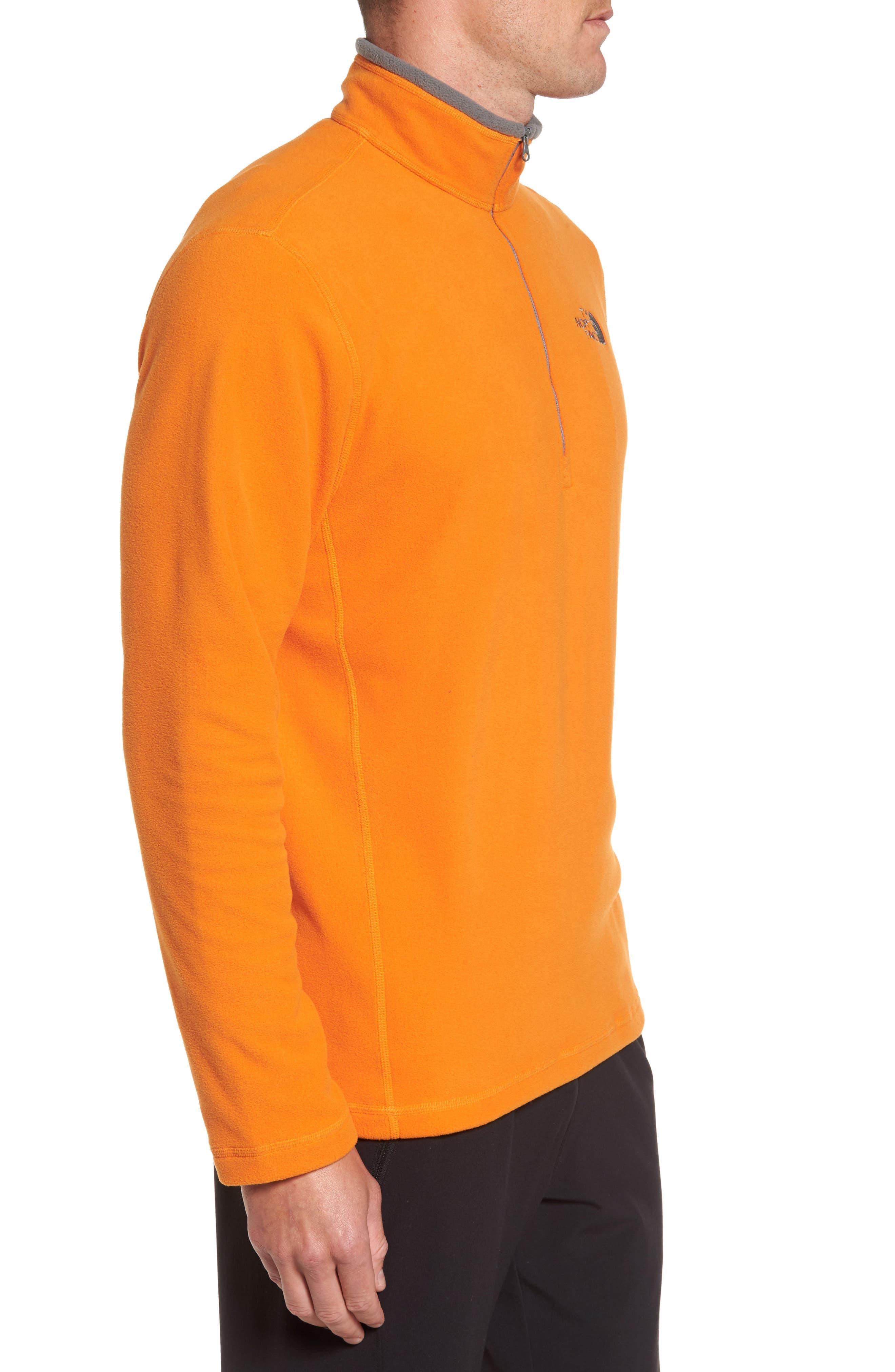 'TKA 100 Glacier' Quarter Zip Fleece Pullover,                             Alternate thumbnail 105, color,