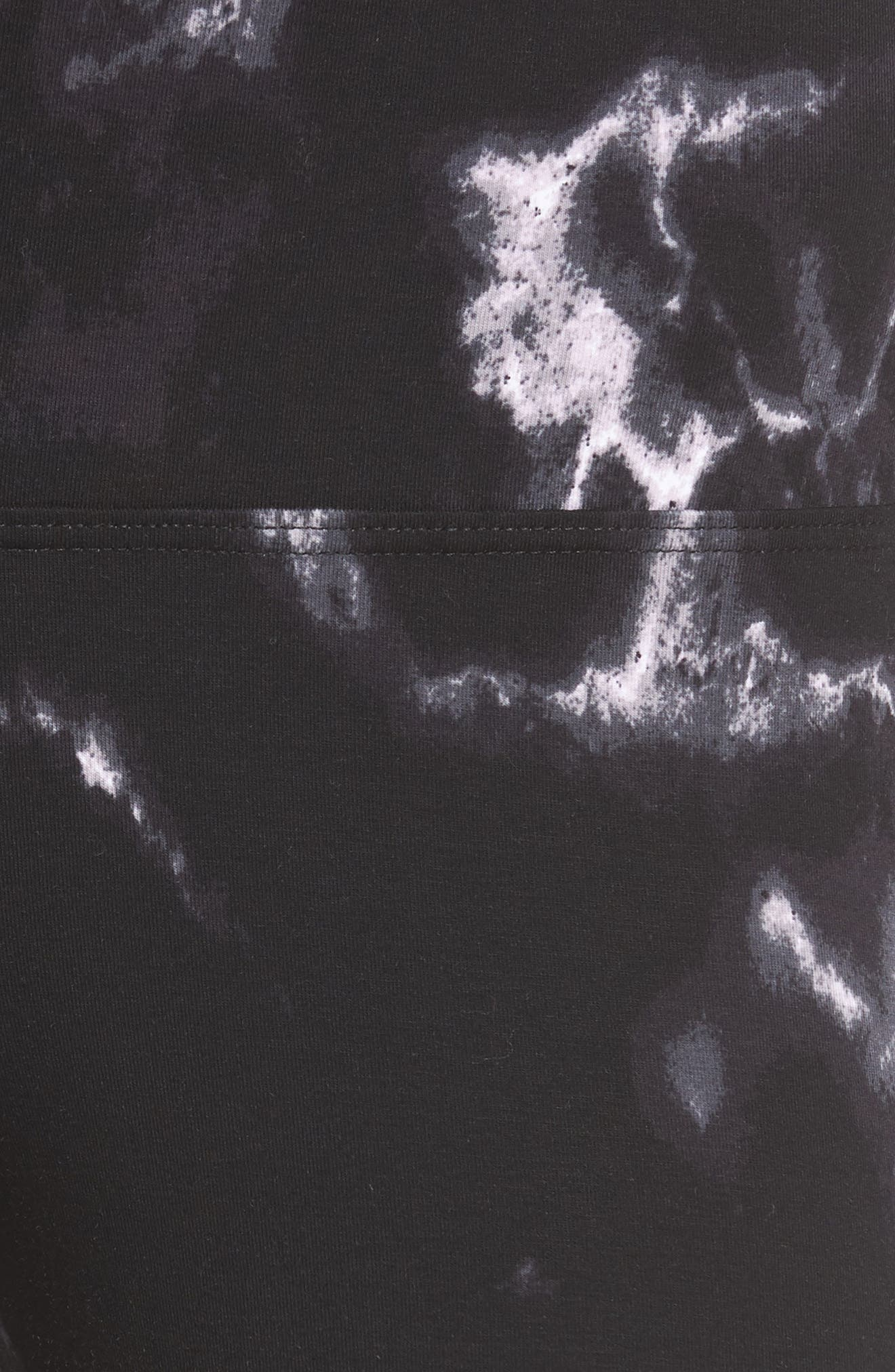 LYSSÉ,                             Control Top High Waist Capris,                             Alternate thumbnail 6, color,                             002